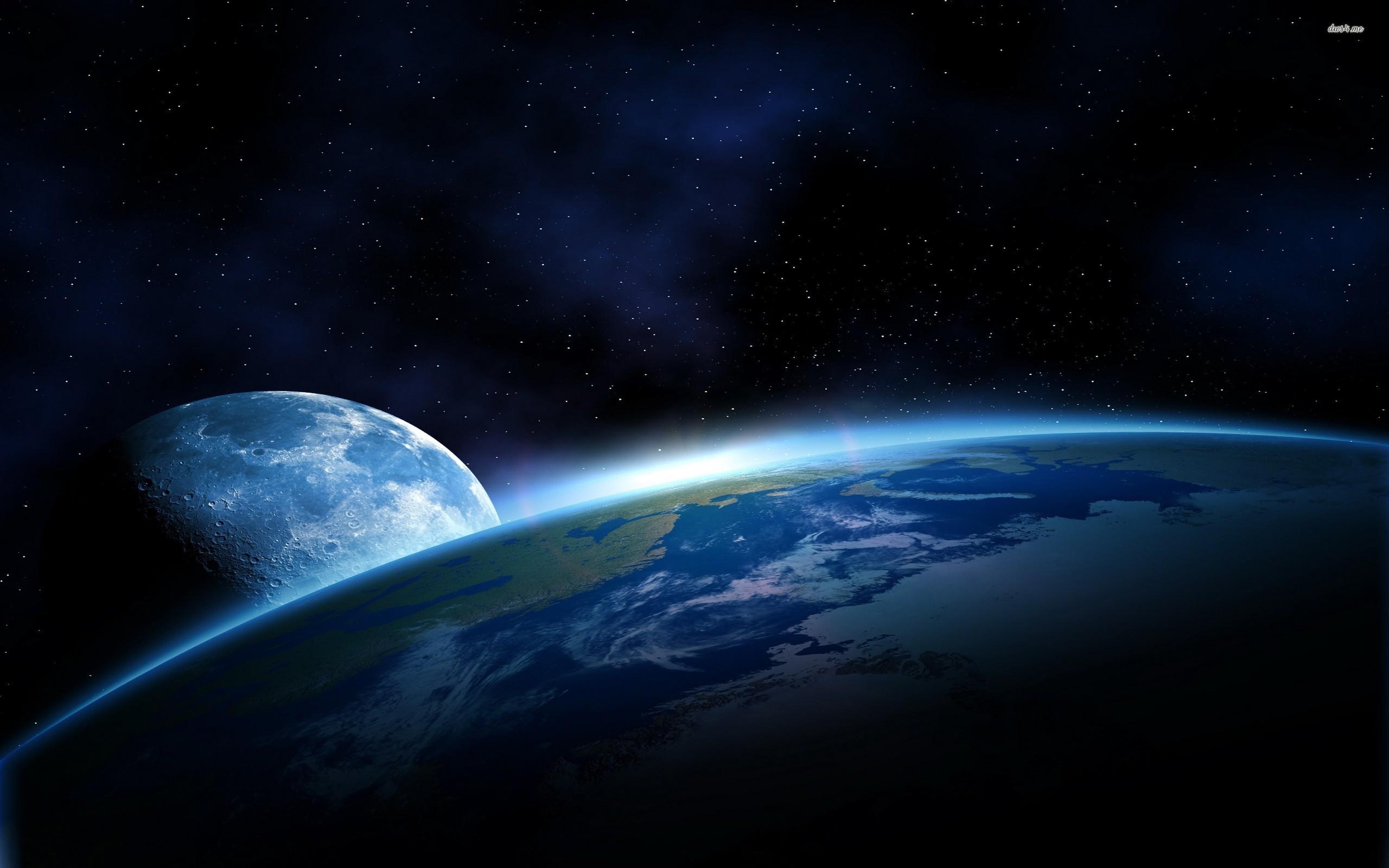 Moon photos from earth dowload 2560x1600
