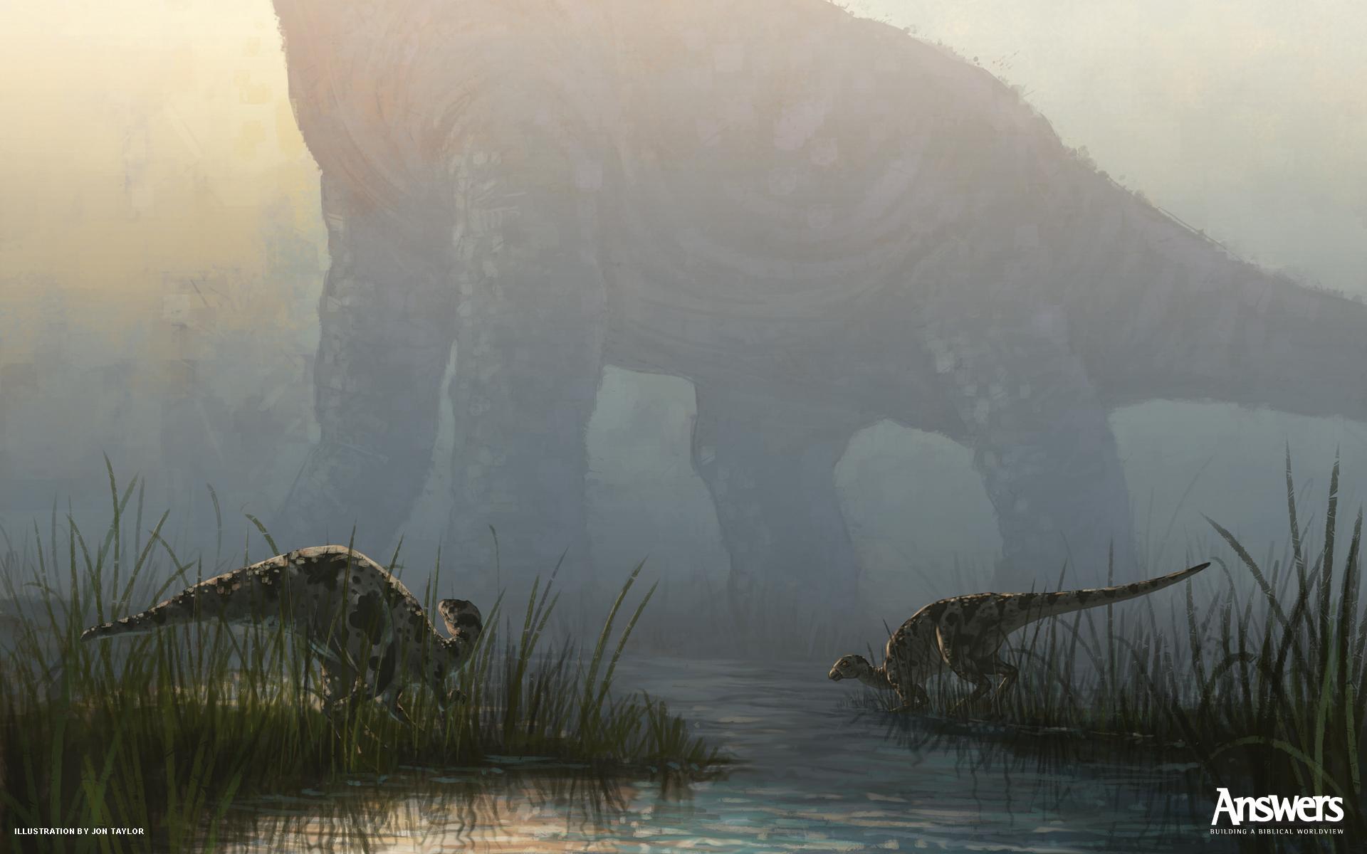 Desktop Dinosaur Wallpaper Answers in Genesis 1920x1200