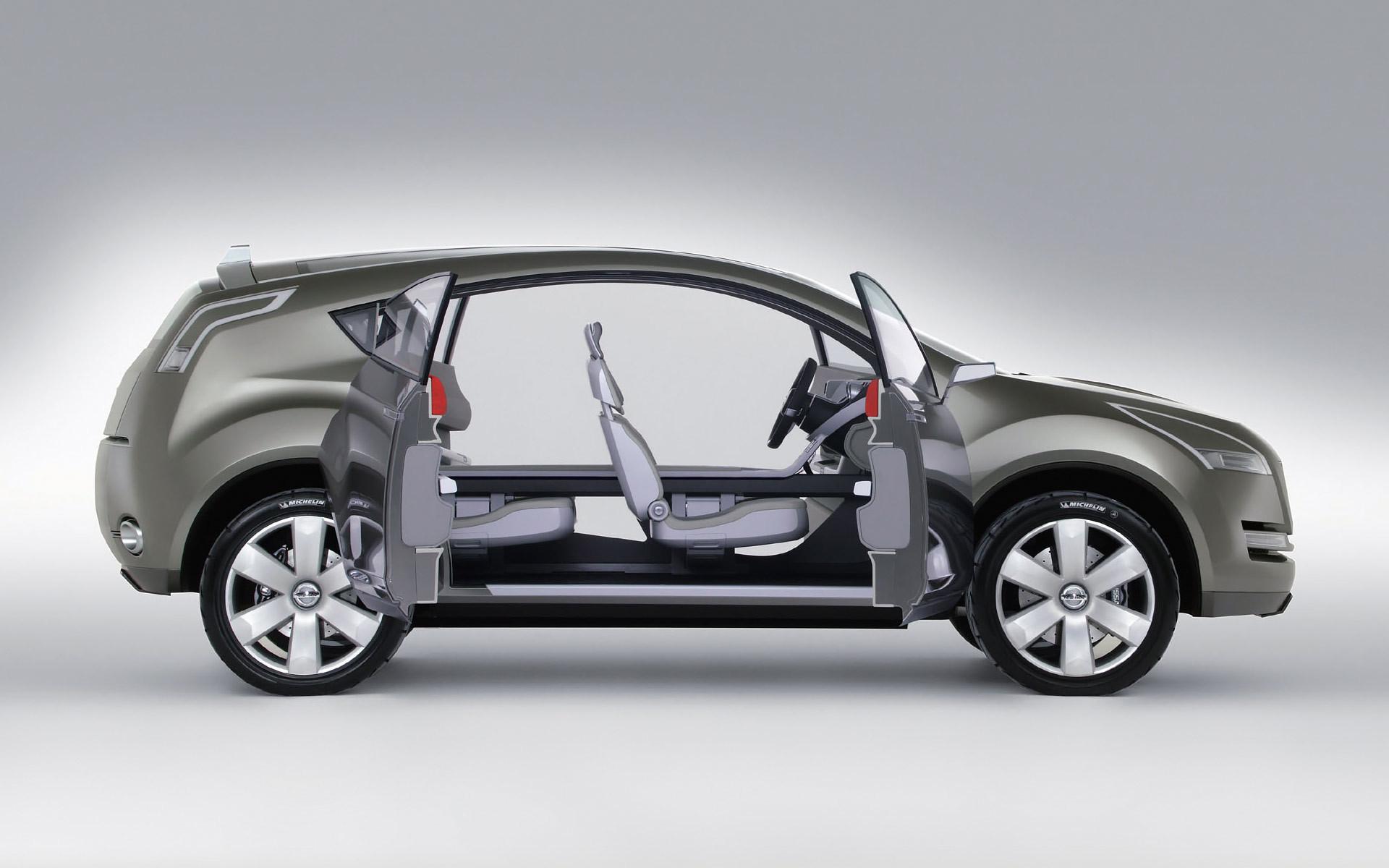 Nissan Qashqai with open doors wallpaper 39020 1920x1200