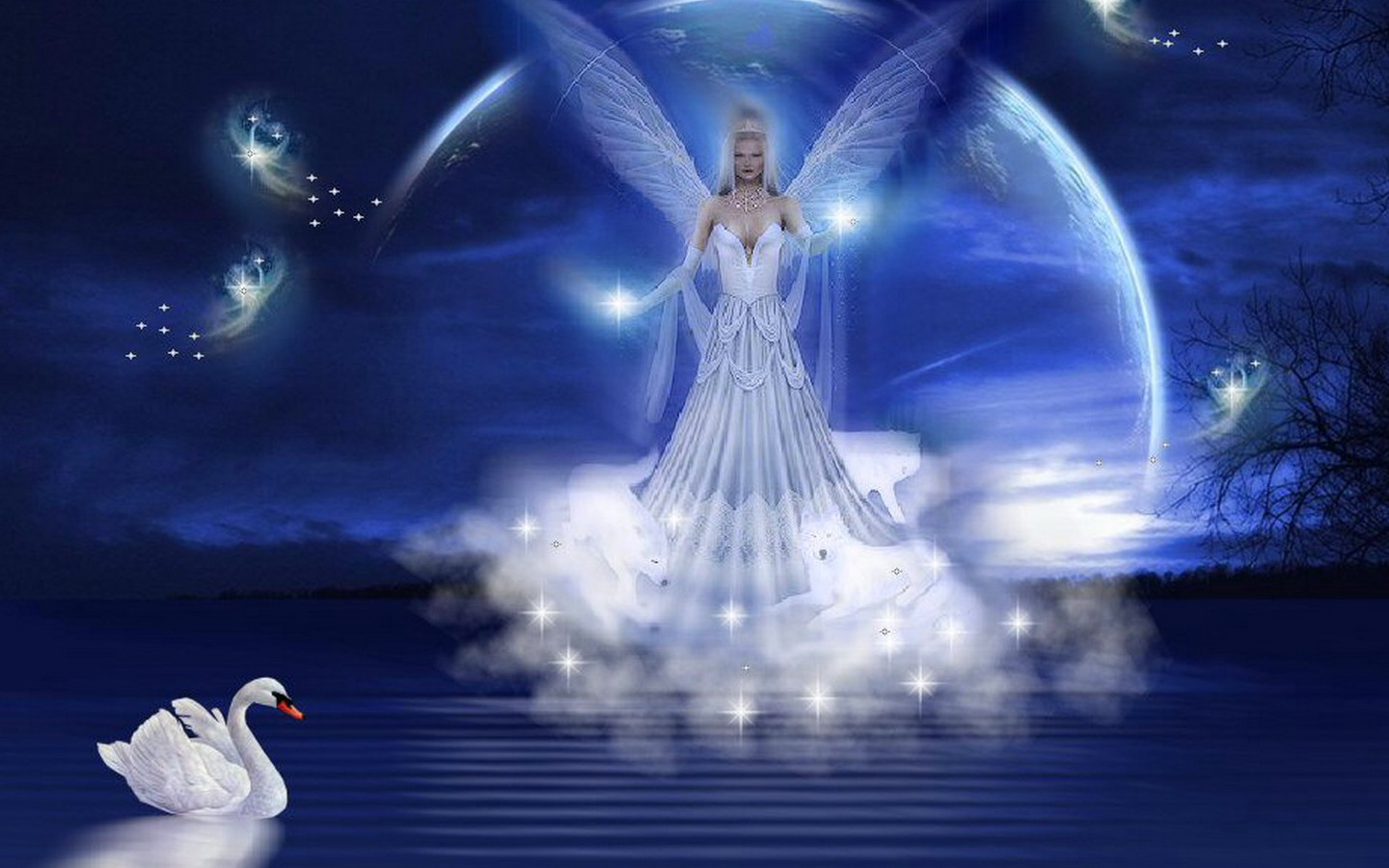 Beautiful Fantasy Angels Wallpapers 1440x900 PIXHOME 1440x900