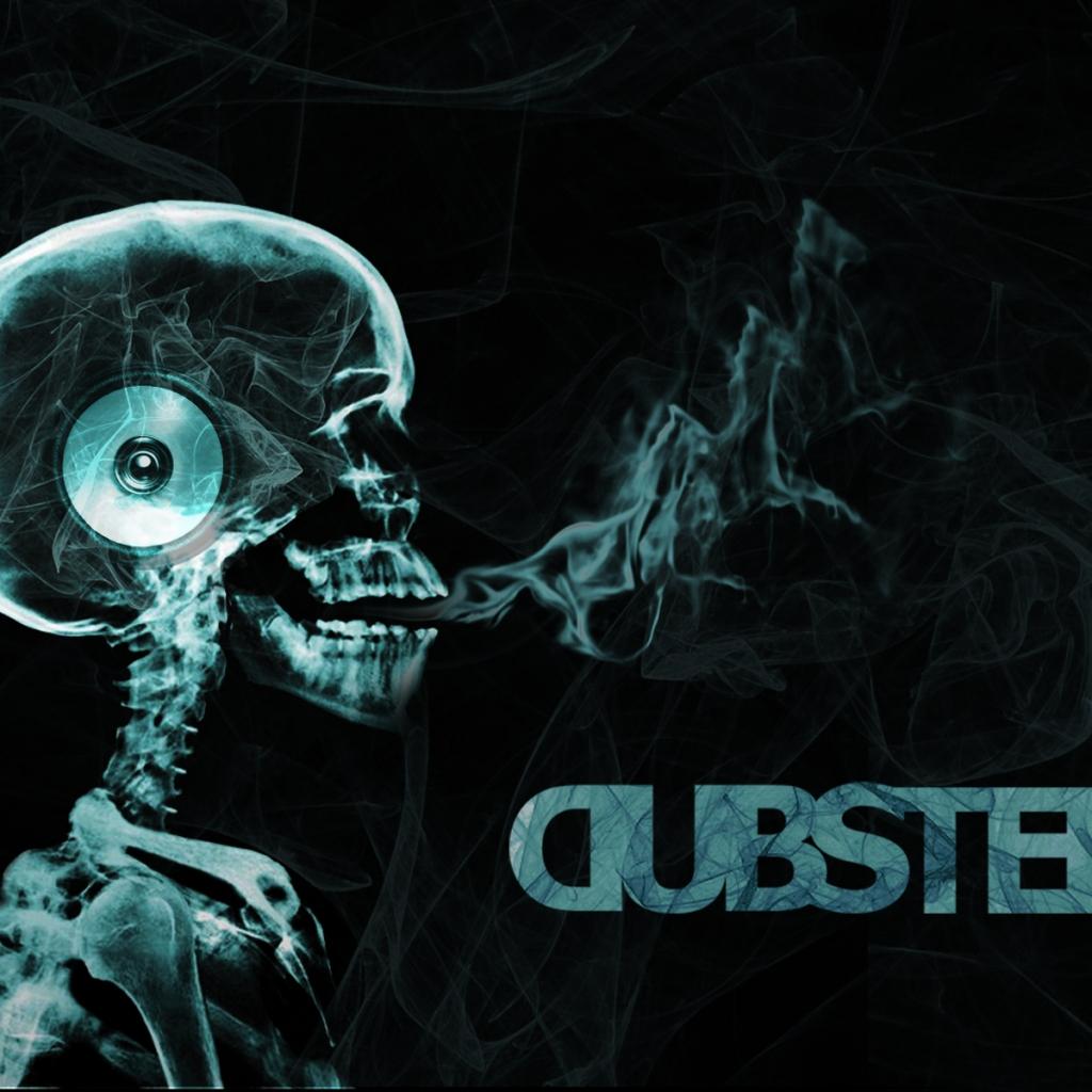 Dubstep Skeletal IPad Exclusive HD Wallpapers 2281 1024x1024