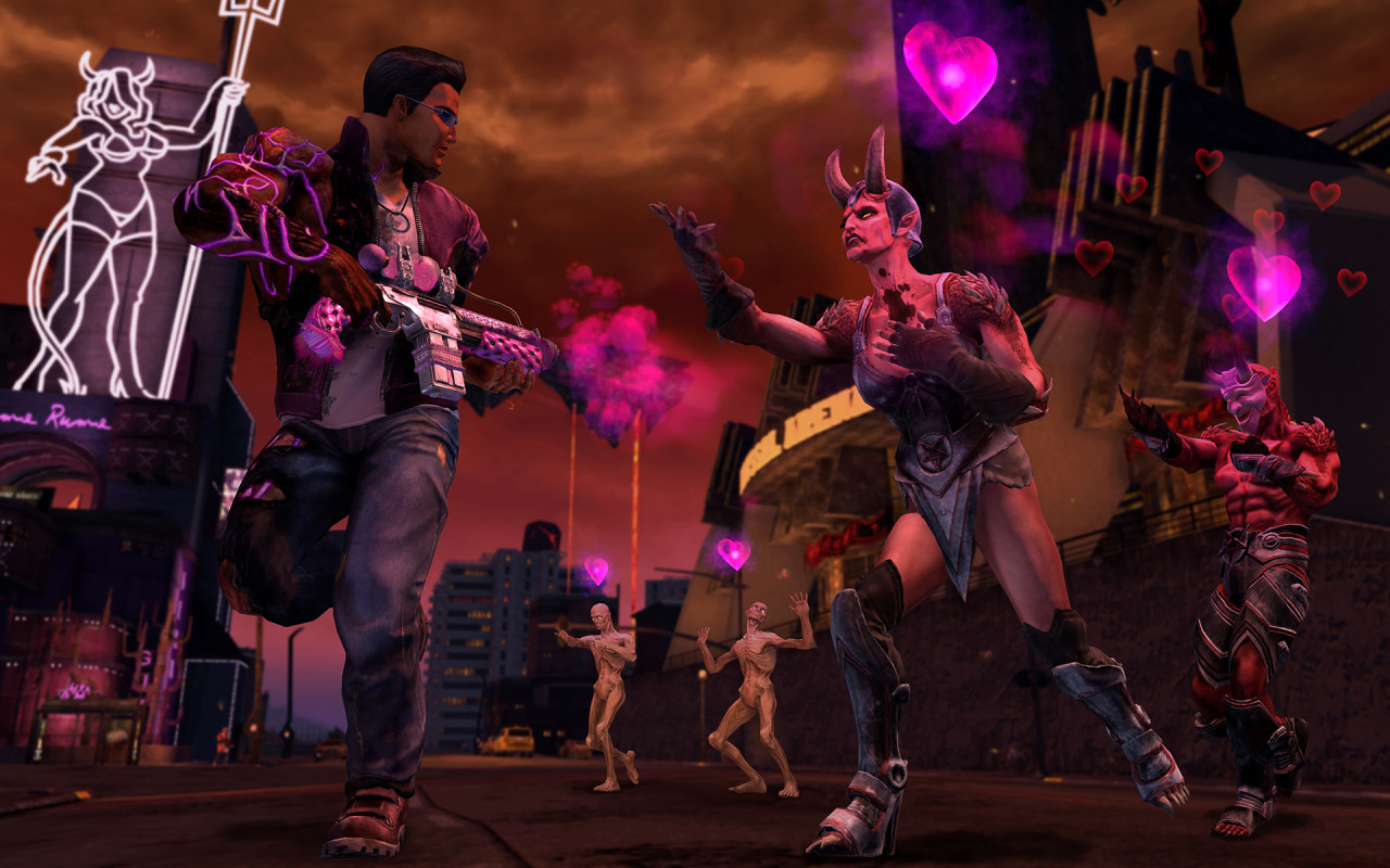 Saints Row Gat out of Hell Sports Seven Deadly Weapons 1280x800