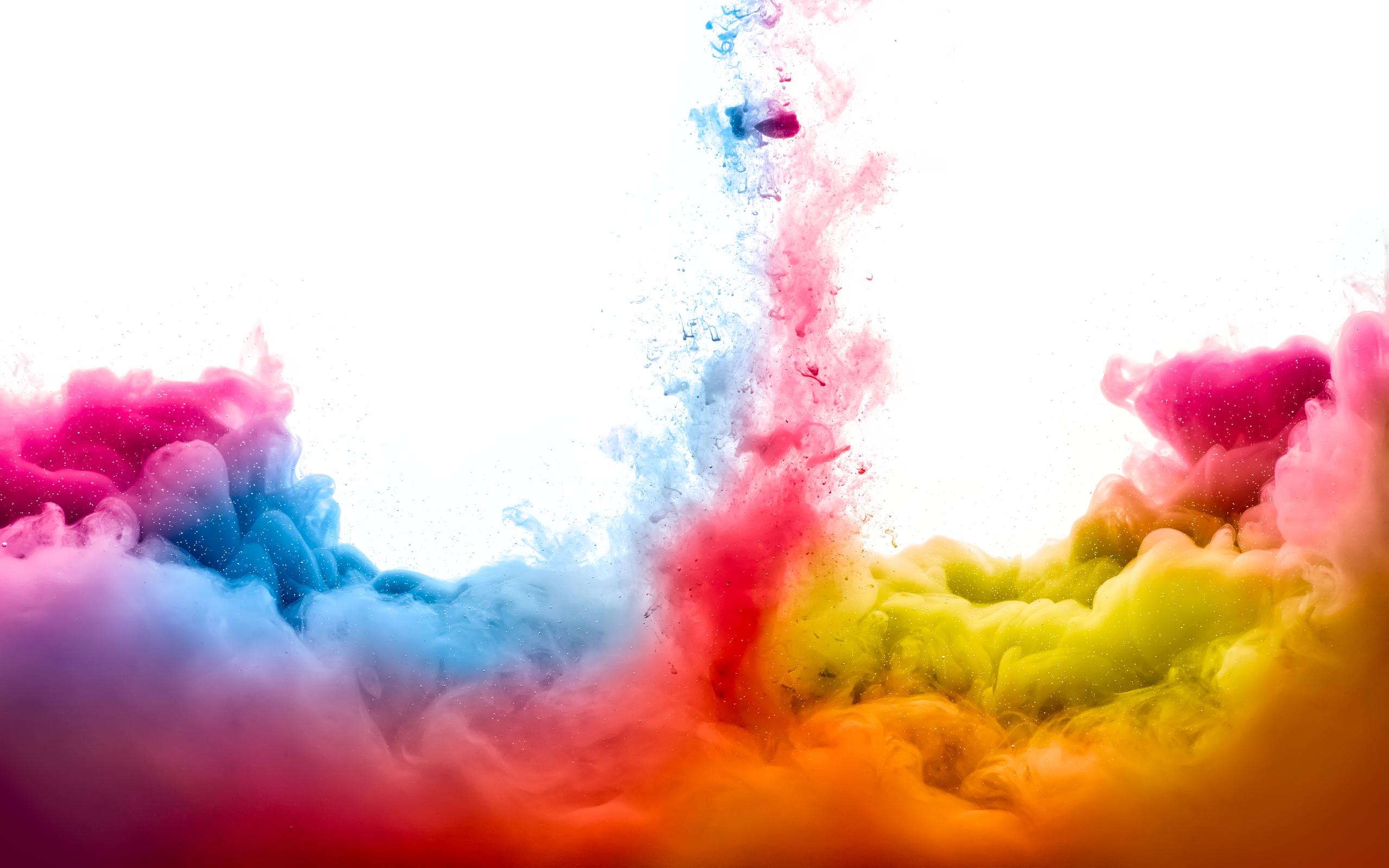 Colorful smoke 4K Ultra HD wallpaper 4k WallpaperNet 2560x1600