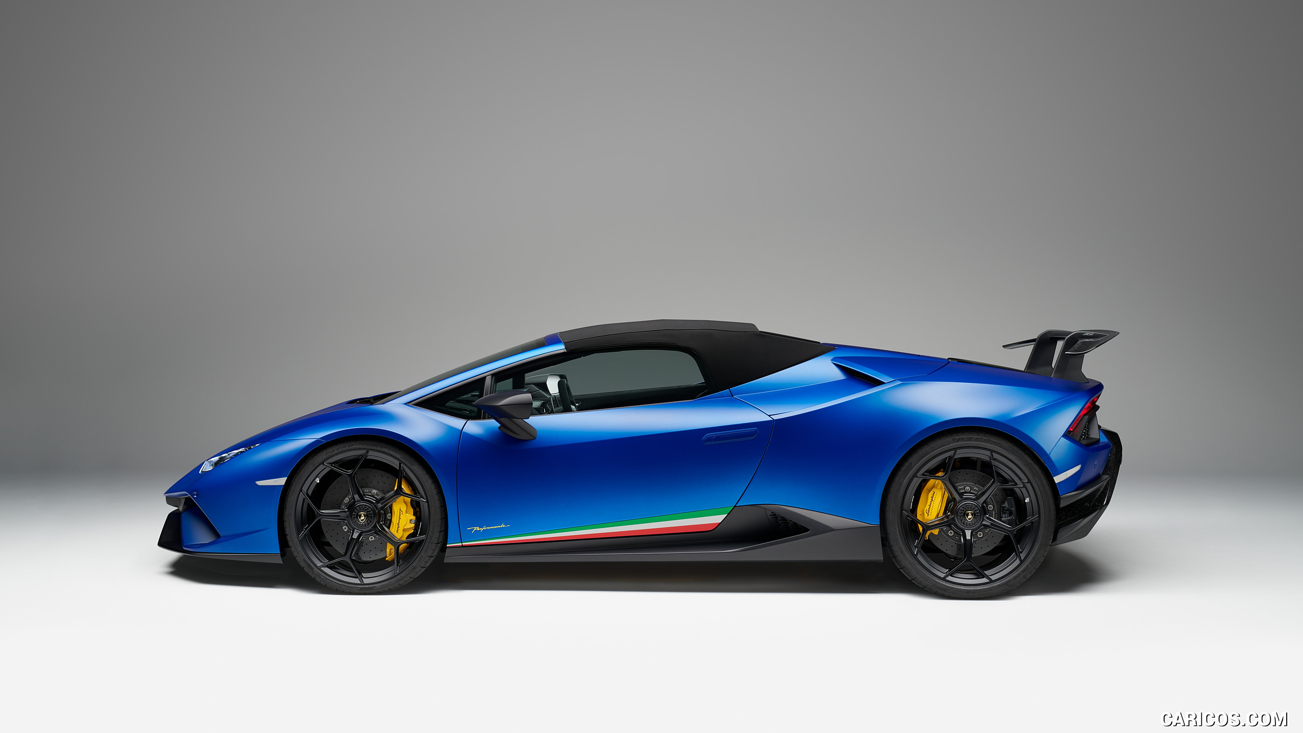 2019 Lamborghini Huracn Spyder Performante   Side HD Wallpaper 14 2560x1440