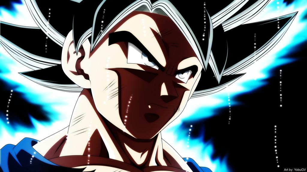 Goku Ultra Instinct by YobuGV 1024x576