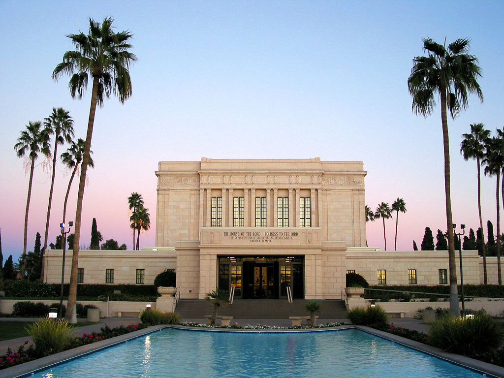 Mesa Arizona Lds Mormon Temple
