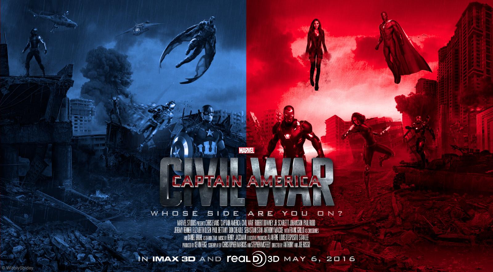 Captain America Civil War Movie Wallpapers in High Definition Desktop 1600x884