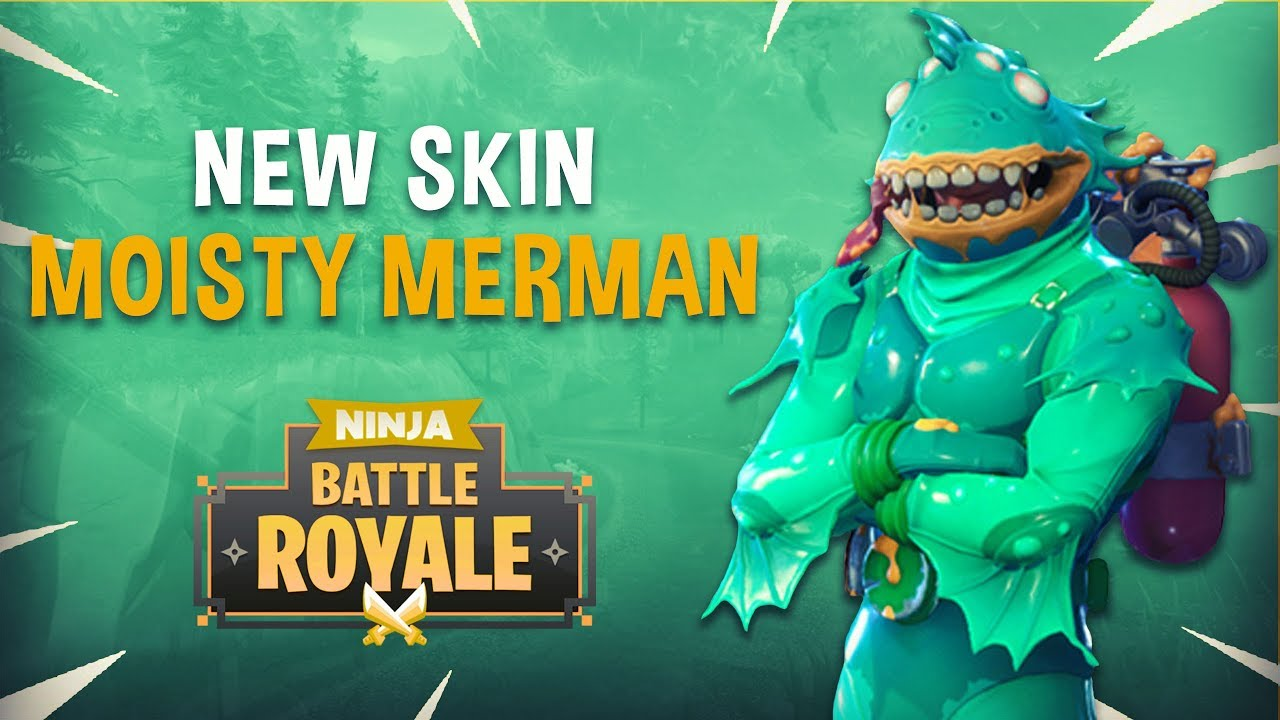 Moisty Merman New Skin   Fortnite Battle Royale Gameplay   Ninja 1280x720