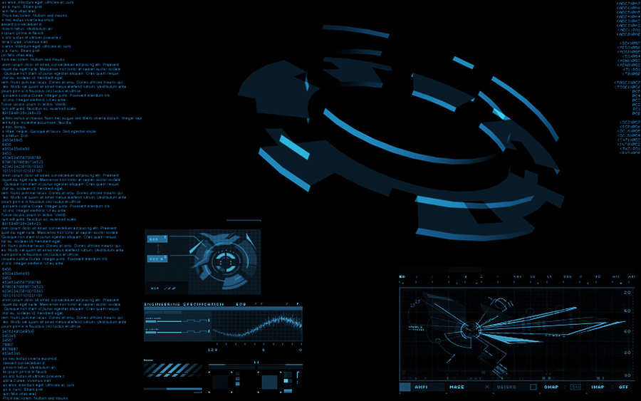 Jarvis Mainframe Wallpaper 900x563
