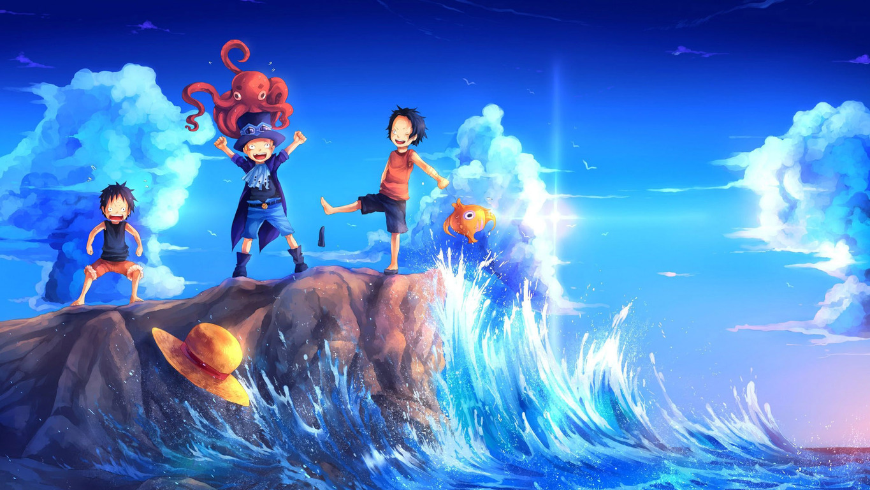 Image for Download One Piece Desktop Wallpaper 1365x768
