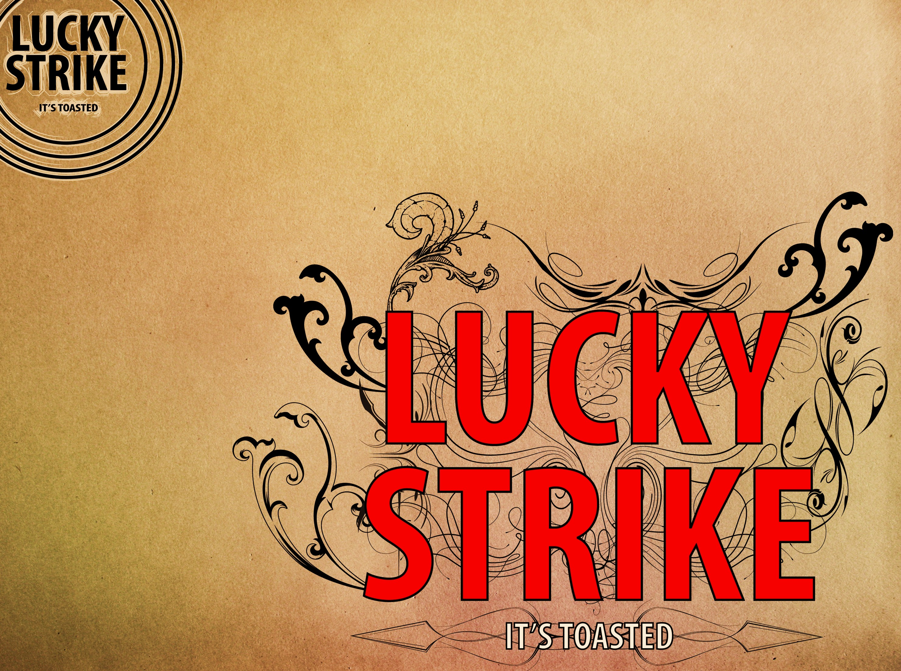 Lucky Strike wallpapers are You can download the full size 2961x2207