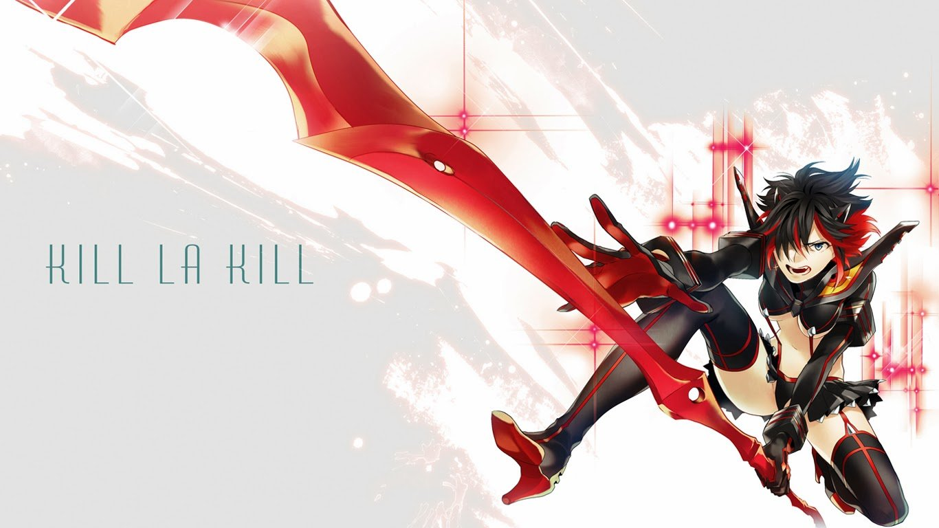 50 Kill La Kill Wallpaper 1366x768 On Wallpapersafari