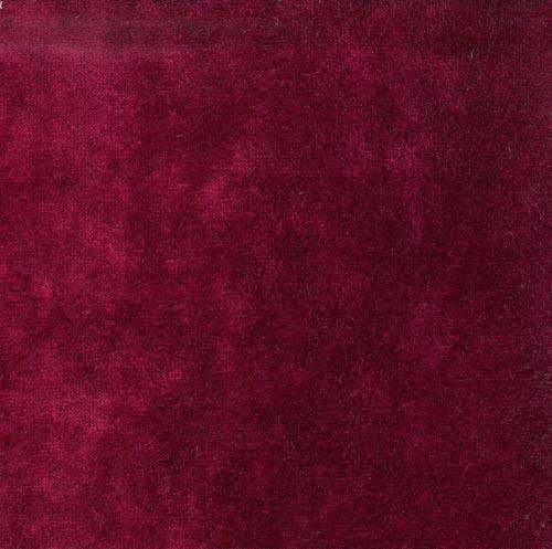 Deep Red Plain Velvet Fabric Luxury Furnishing Fabric 500x497
