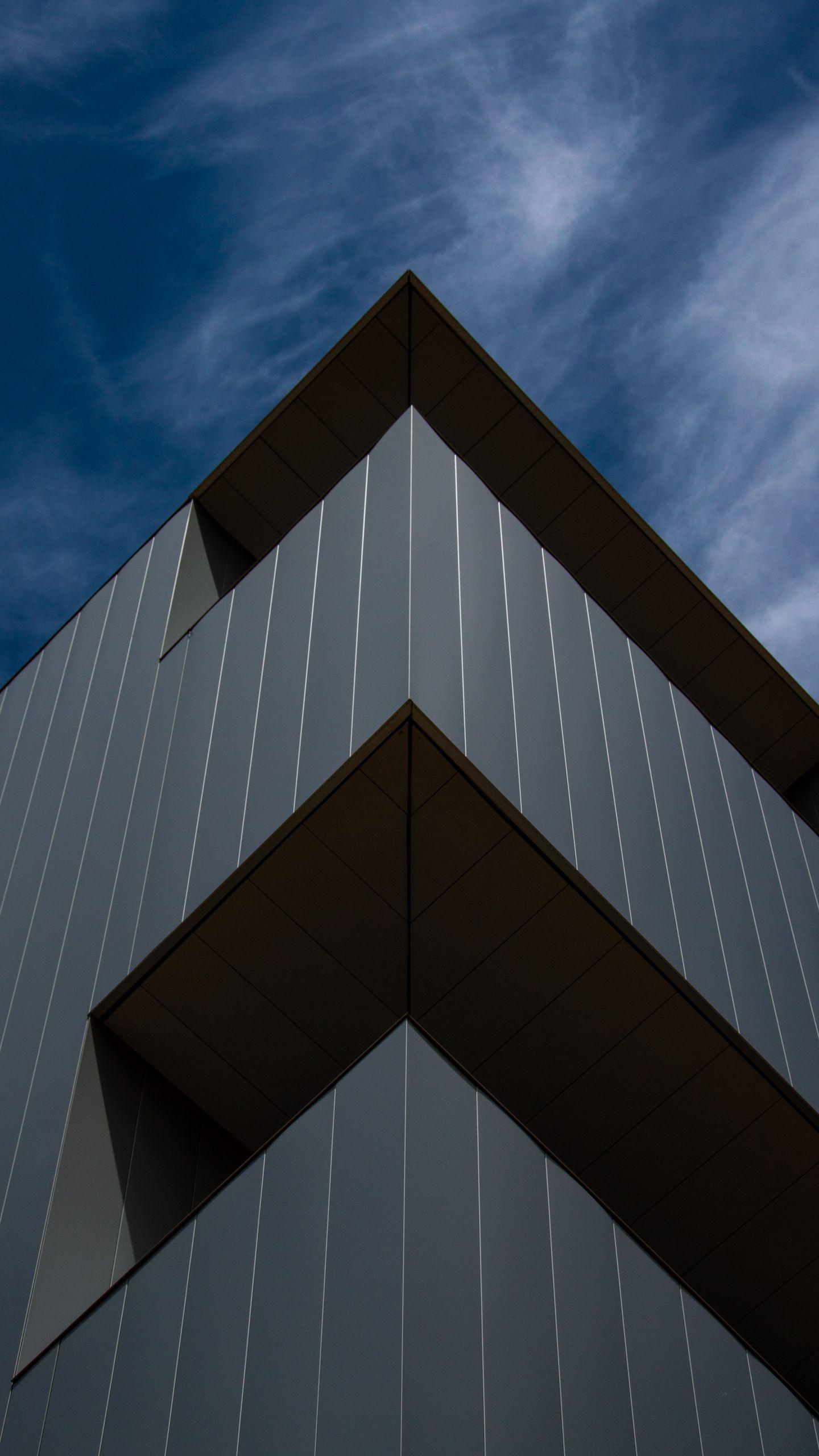 Download wallpaper 1440x2560 building architecture facade 1440x2560