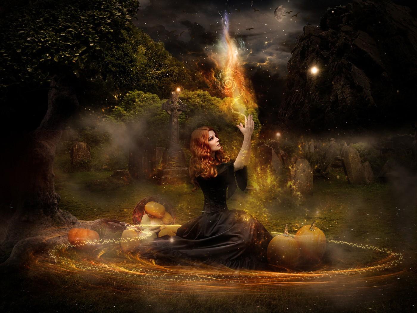 witch   Witchcraft Wallpaper 34784486 1400x1050