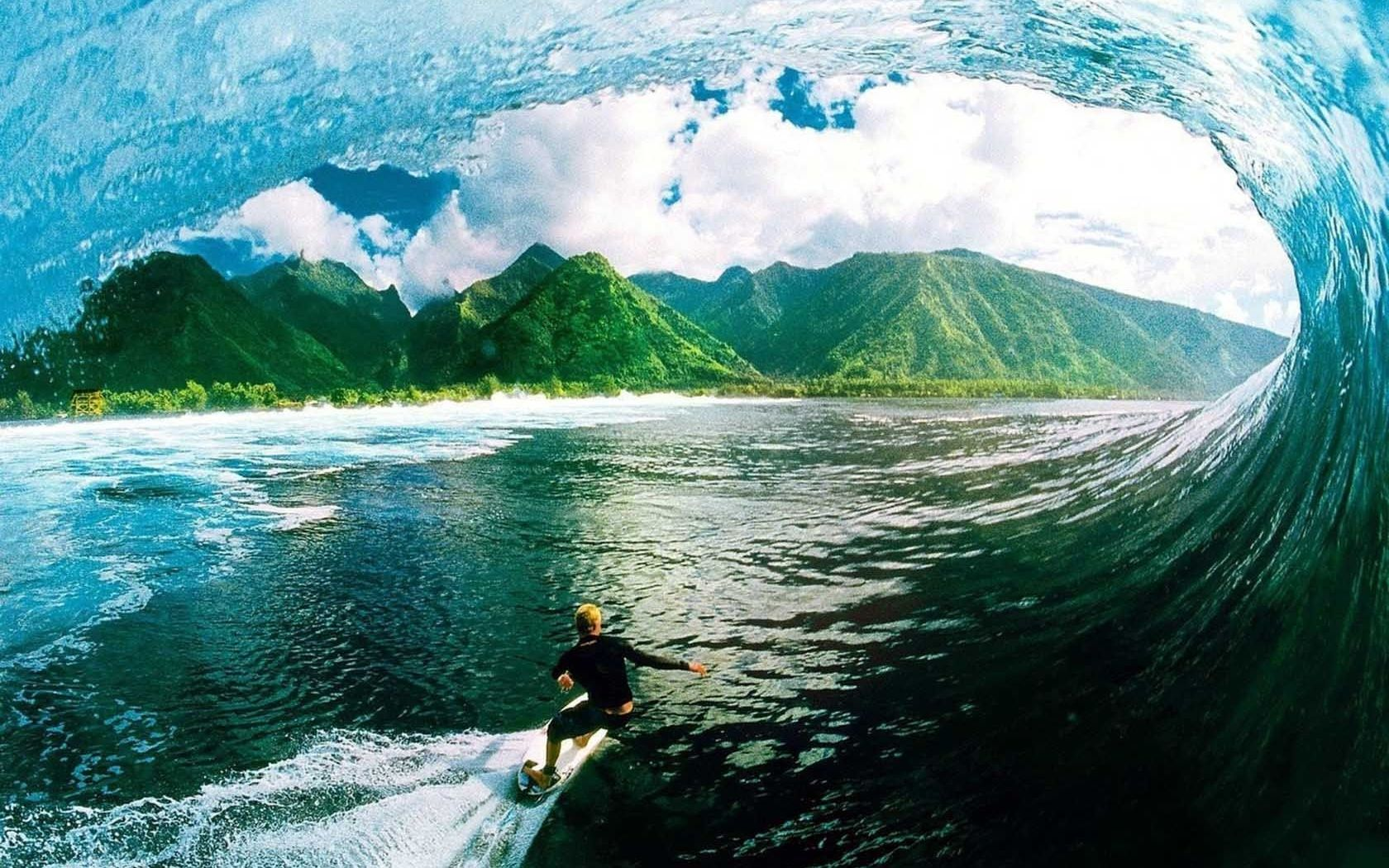 Hawaii Surfing Wallpapers   Top Hawaii Surfing Backgrounds 1680x1050