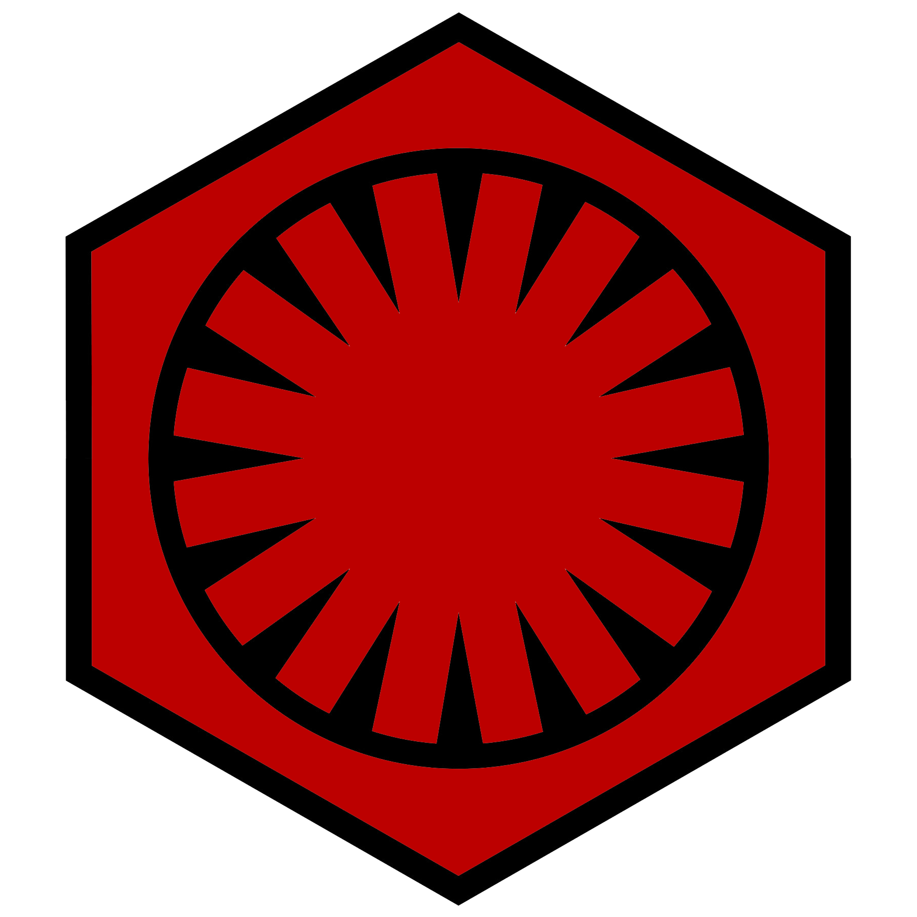 Emblem of the First Order Star Wars VII by RedRich1917 1800x1800