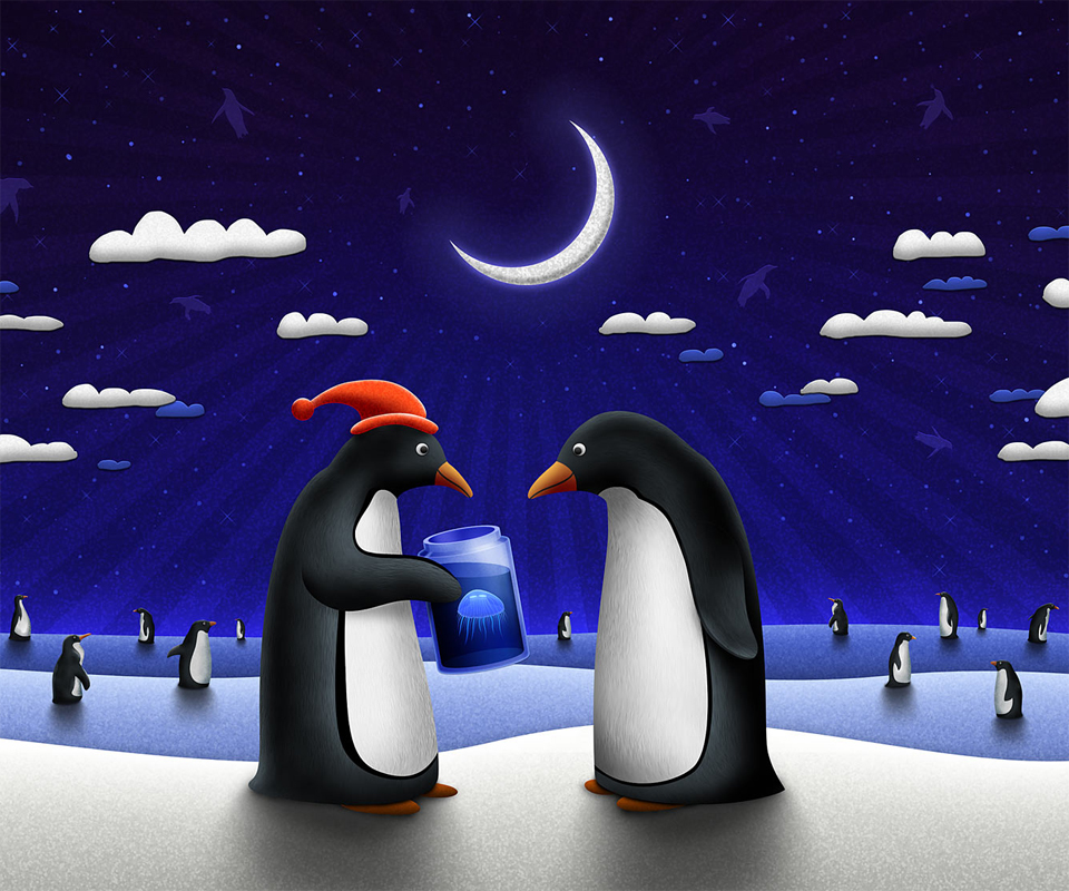 Tablet PC Christmas Wallpapers 960x800