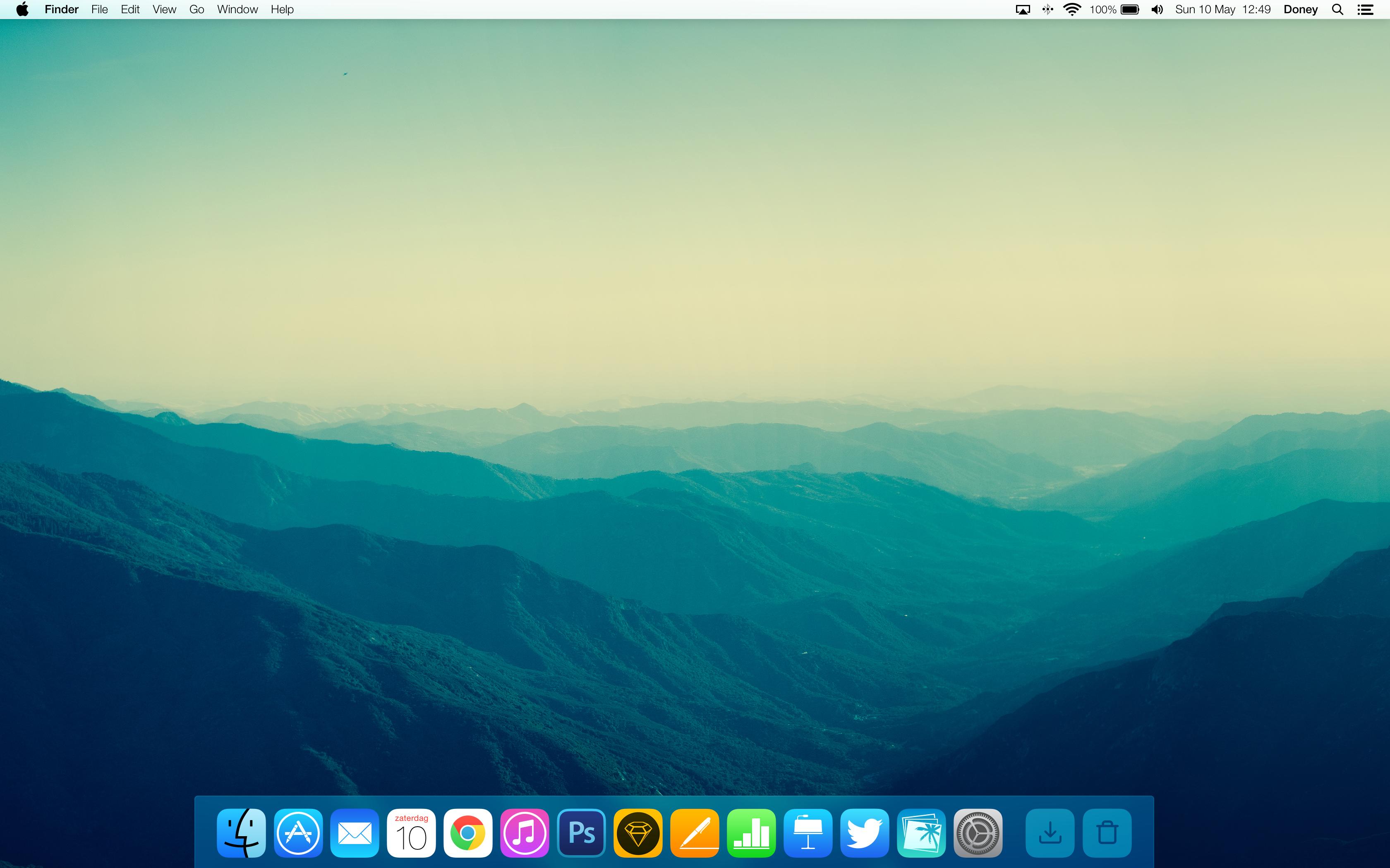 Nachgereicht Zwei OS X 1010 Konzepte apfellike 3360x2100