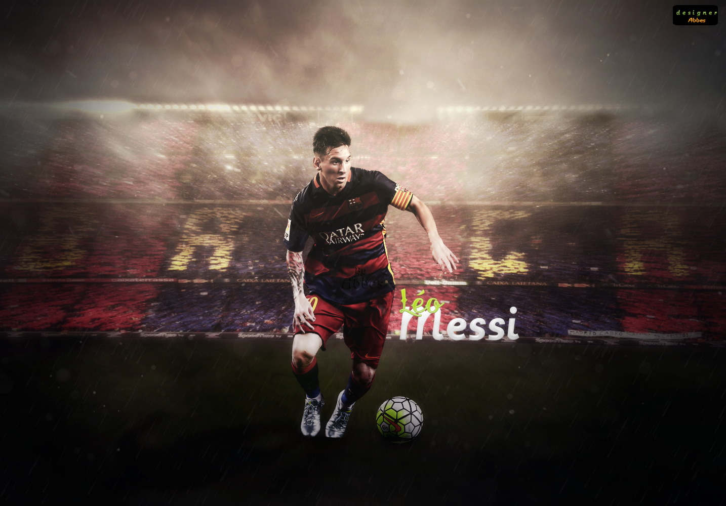 leo messi 2016 by abbes17 watch fan art wallpaper other 2015 2016 ...