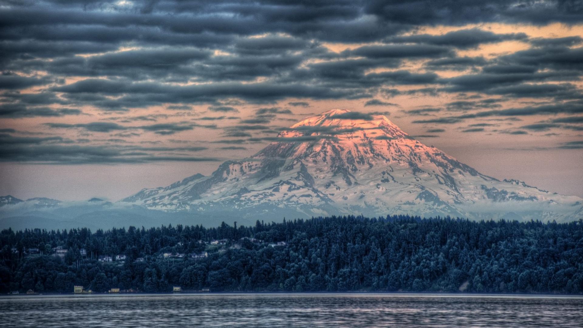 Mount Rainier National Park Wallpapers 1920x1080