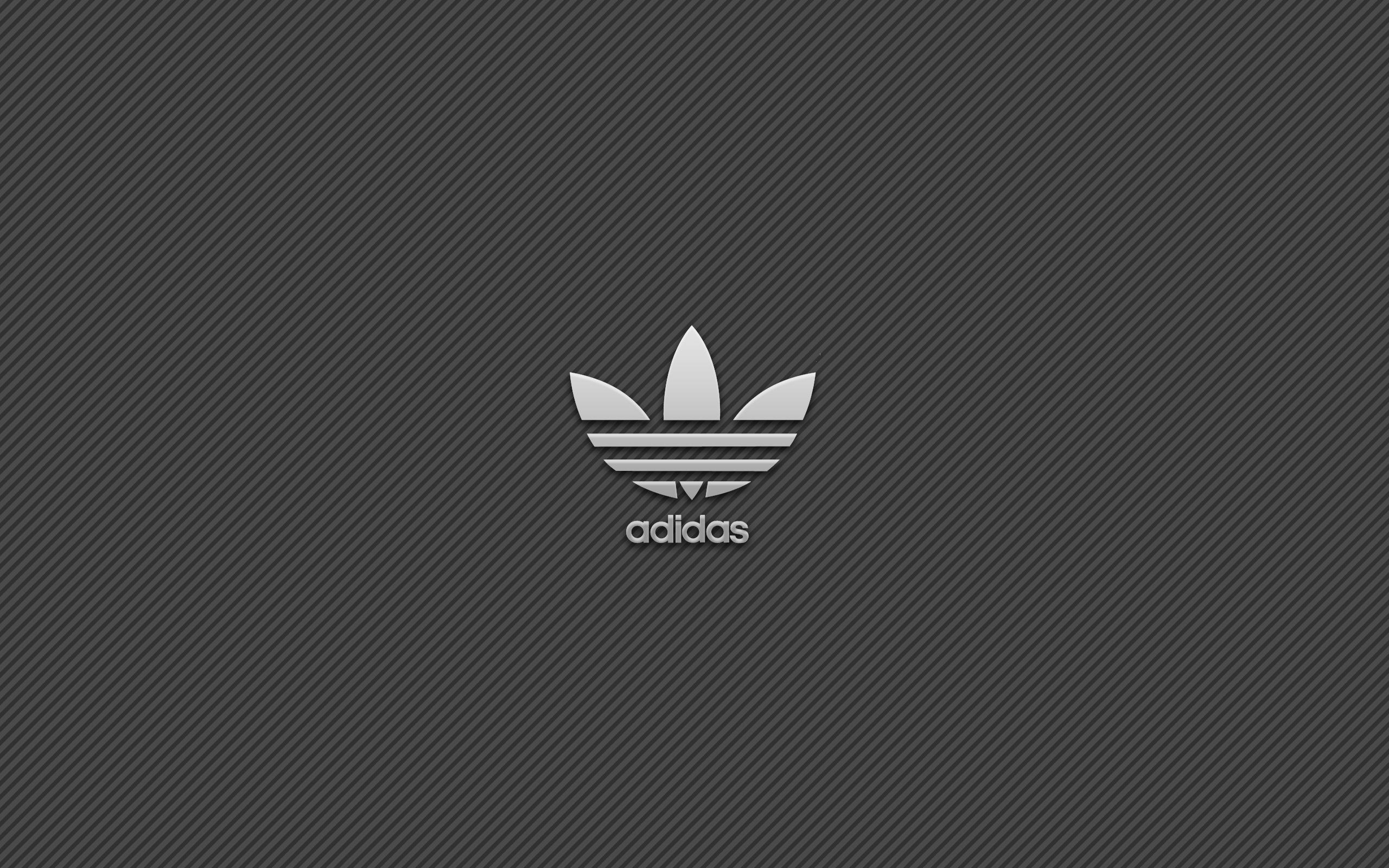 Adidas simple logo background wallpaper 2560x1600 4192 2560x1600