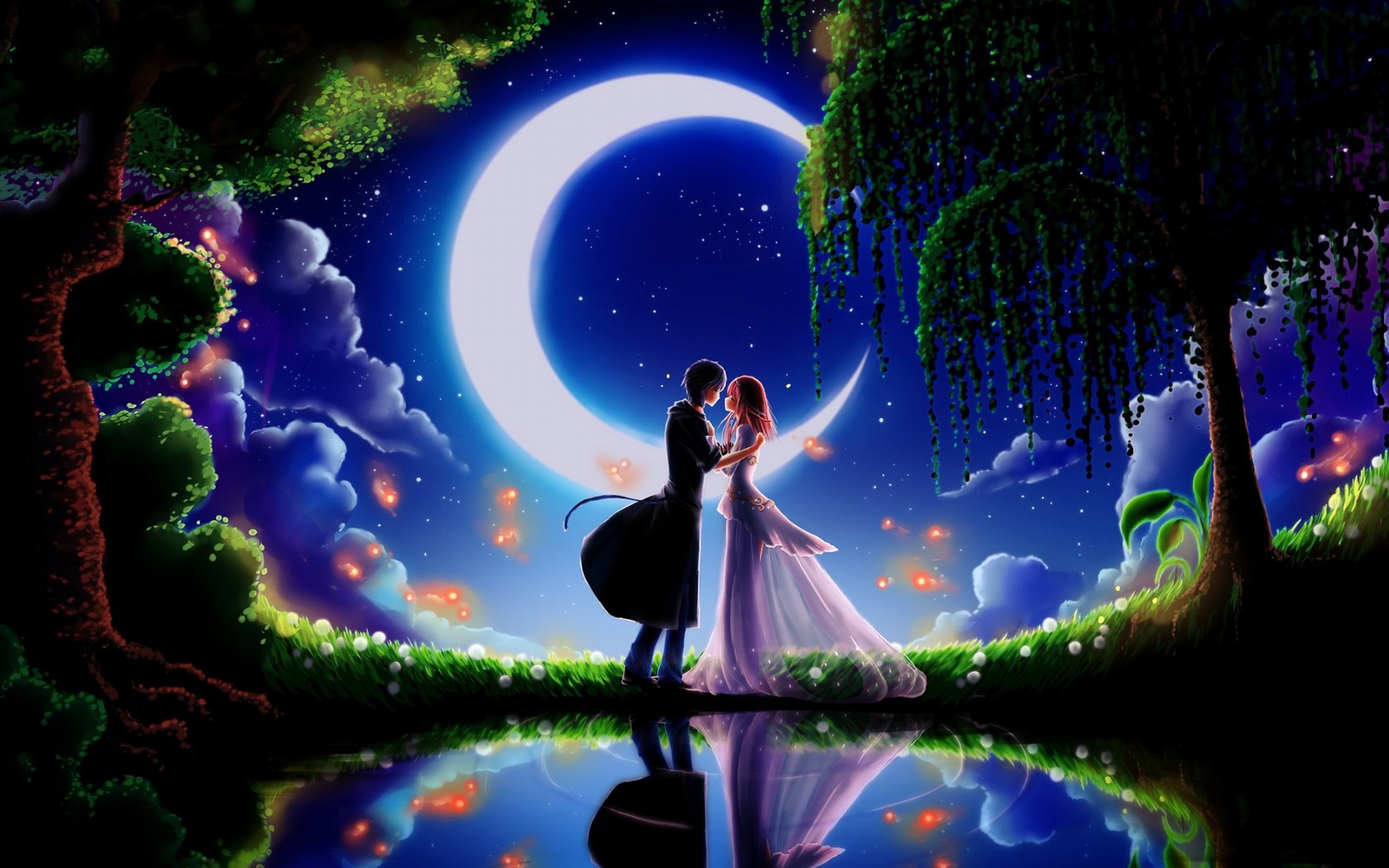 Romantic Love 3D Wallpapers