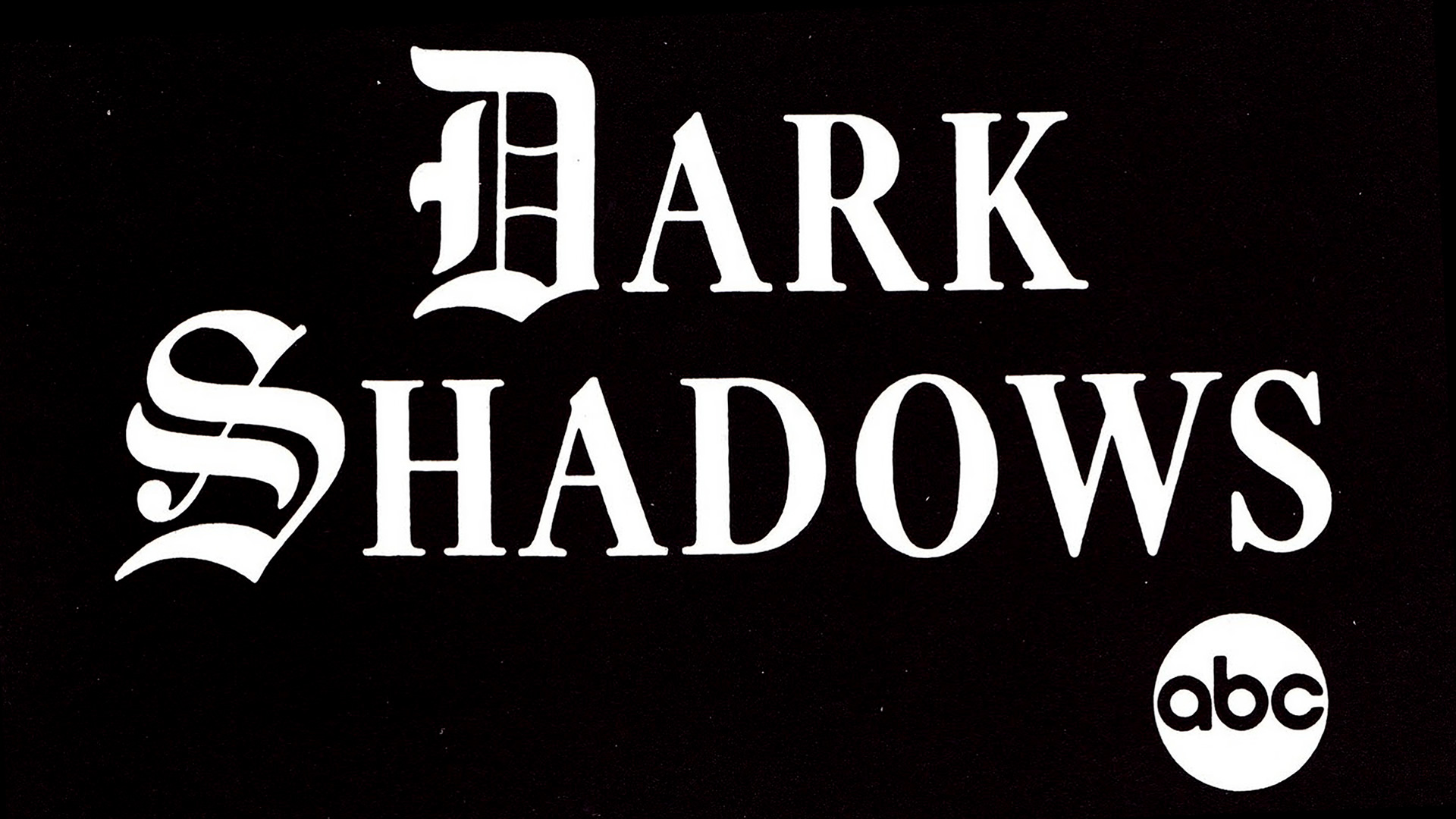 Dark Shadows Logo Hd Wallpaper Wallpaper List 1920x1080