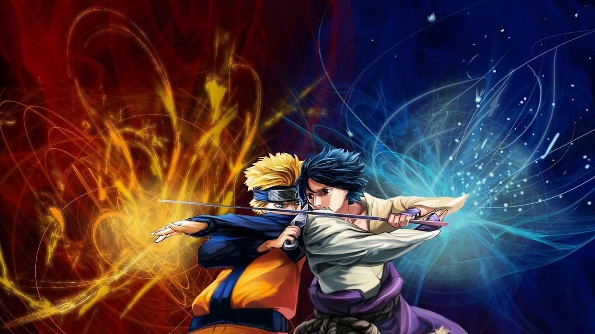 73 Naruto And Sasuke Wallpapers On Wallpapersafari