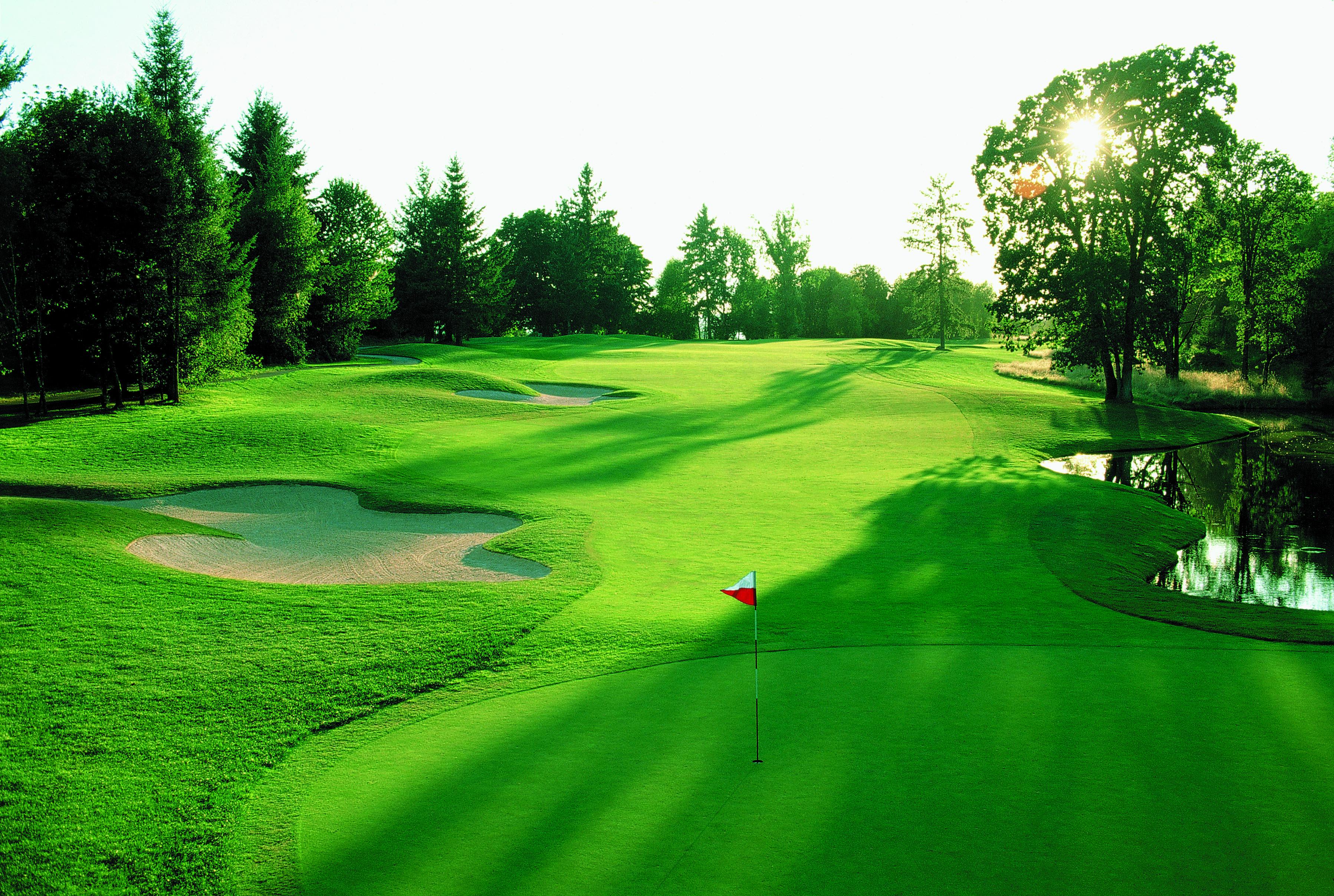 Beautiful Golf Course Desktop Hd Hd Wallpaper 3596x2416