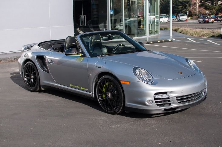2012 Porsche 911 Turbo S Edition 918 Spyder wallpaper background 736x489
