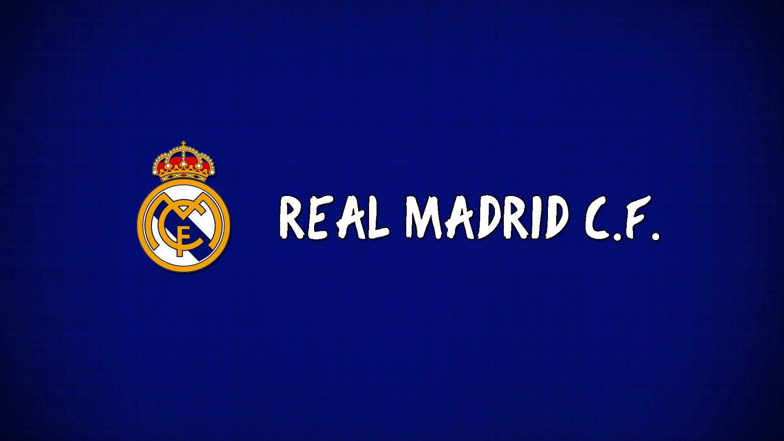Real Madrid Logo Football Club 1600x900
