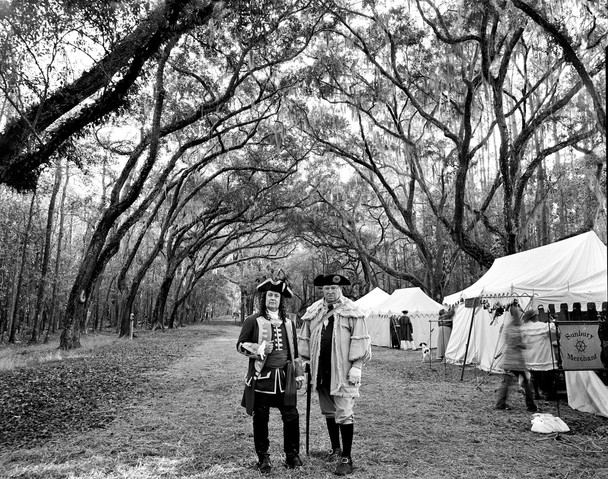 wormslow plantation site in savannah ga during a reenactment 608x479
