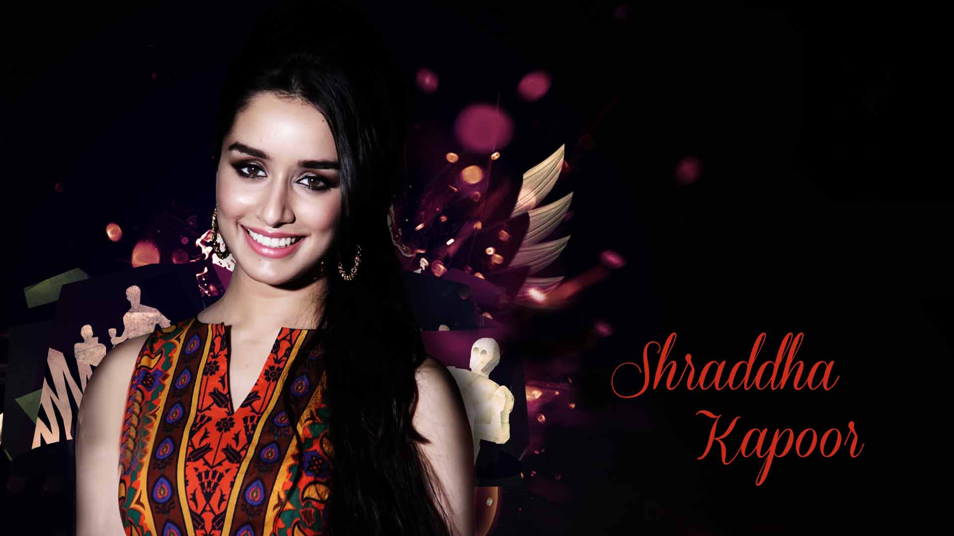 Shraddha Kapoor cute smile face images Latest HD Wallpapers 1920x1080