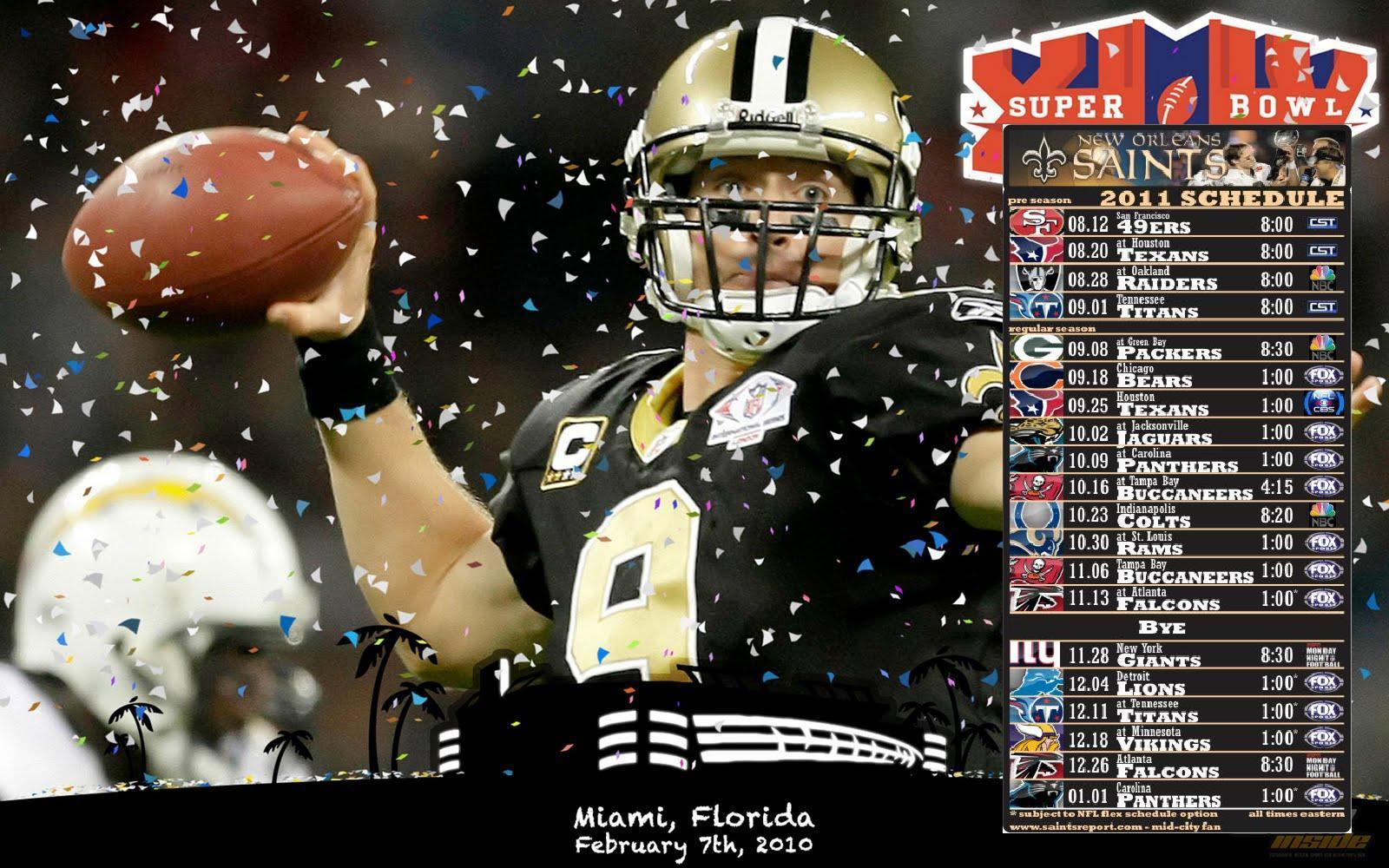 New Orleans Saints HD background New Orleans Saints wallpapers 1600x1000