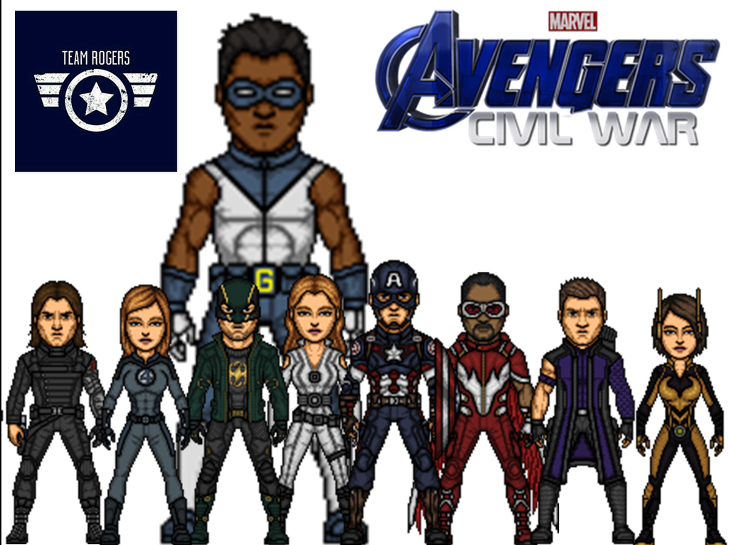 The Avengers Civil War by GaleRodrick17 1024x766