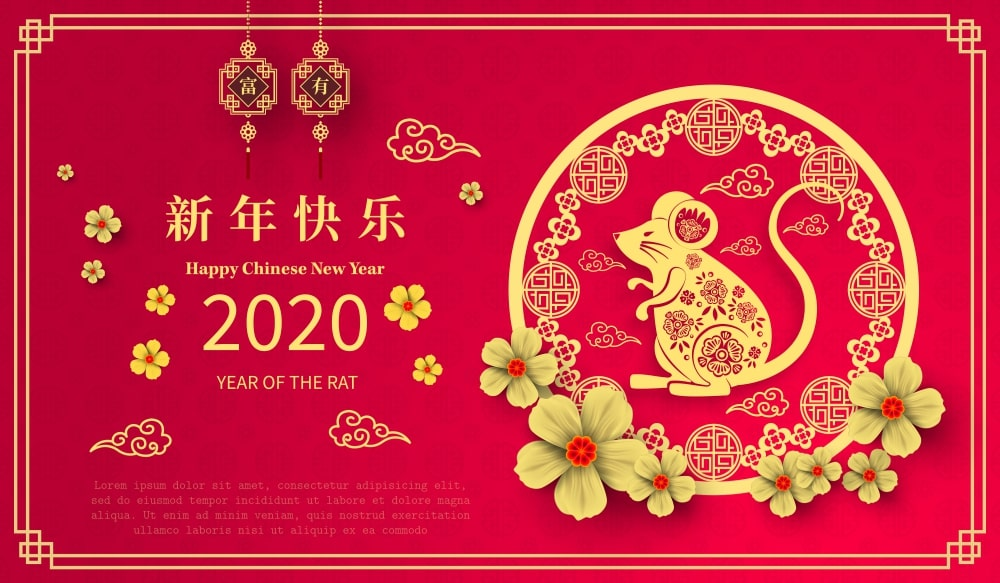 2020 Chinese New Year Images Wallpapers   HappyNewYear2020 1000x583