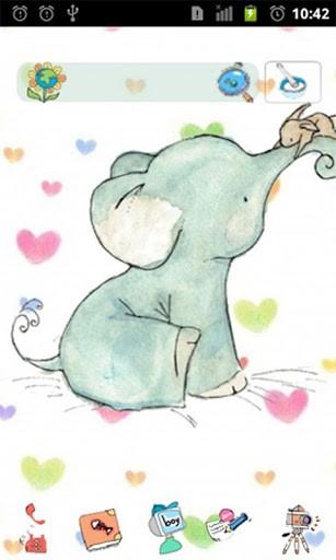 Cute Cartoon Elephant Wallpaper Wallpapersafari