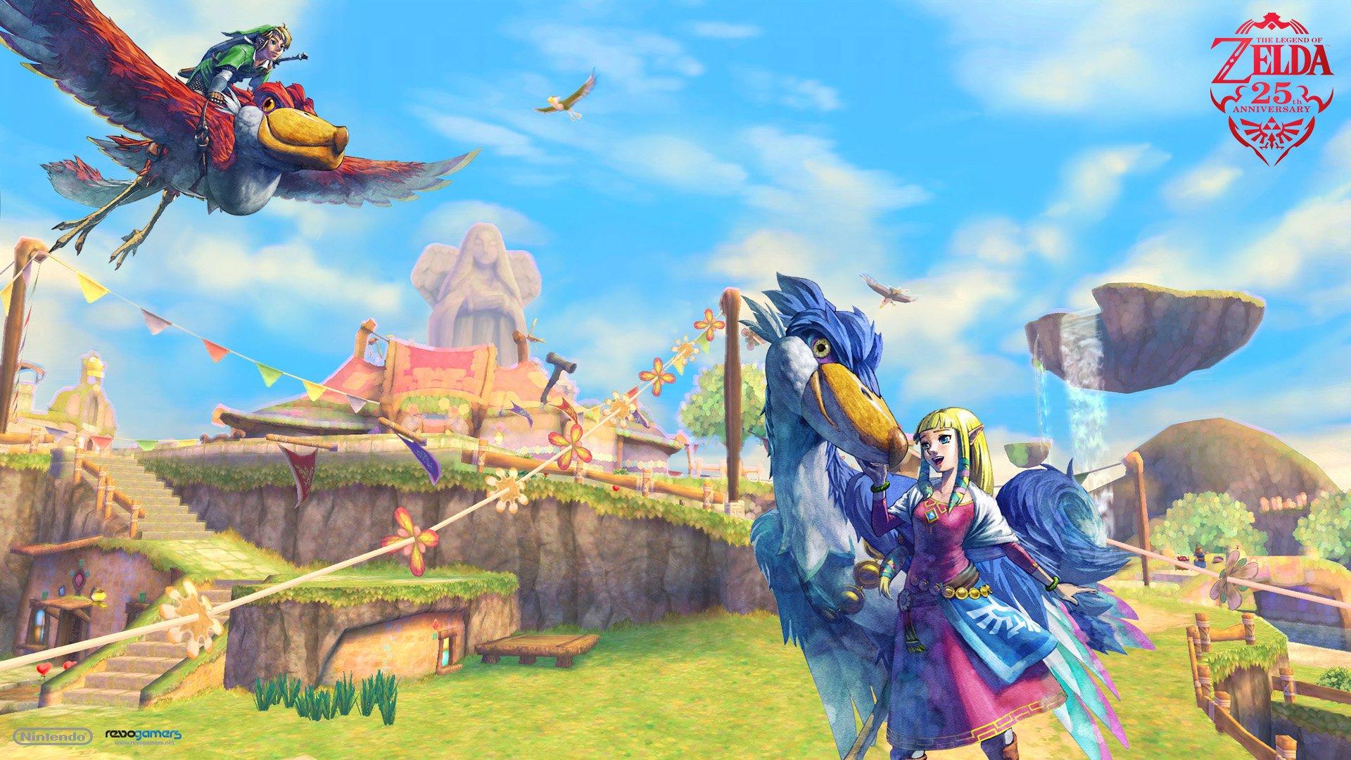Free Download Legend Of Zelda Skyward Sword Wallpaper Sf Wallpaper