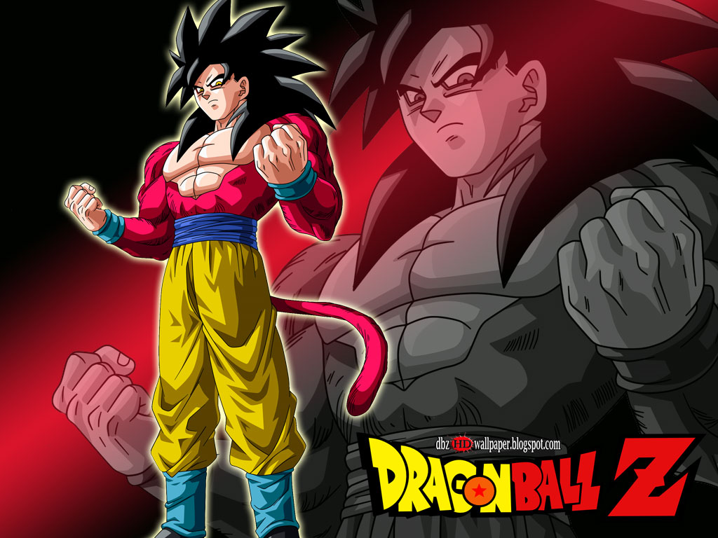 Son Goku Super Saiyan 4 002   All About Dragon Ball Wallpapers 1024x768
