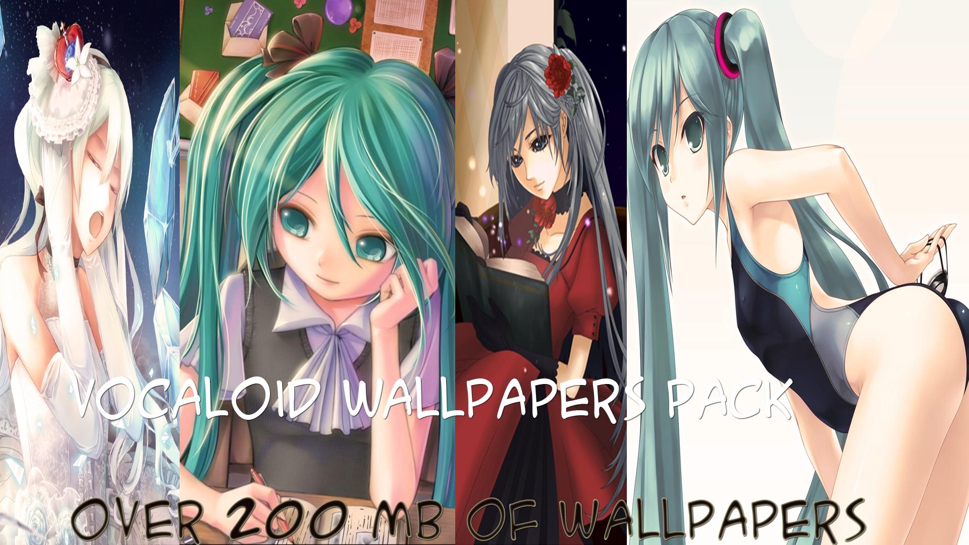 Vocaloid wallpaper pack wallpapersafari - Download anime wallpaper pack ...