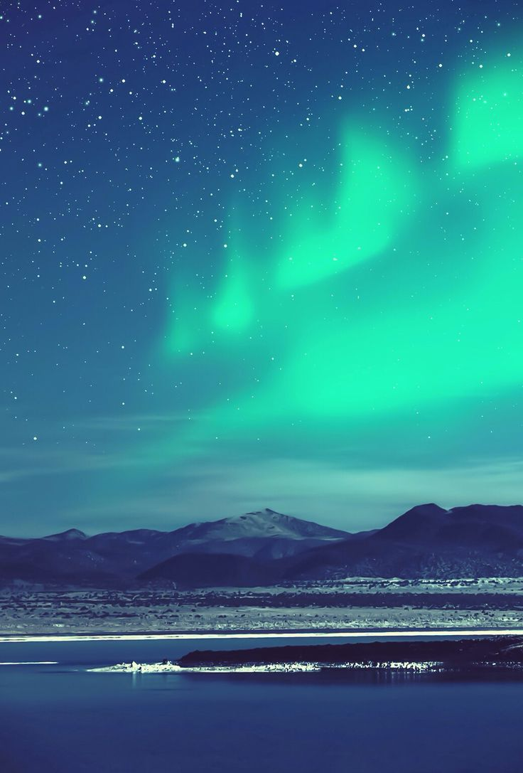 Northern lights iphone 4 wallpaper