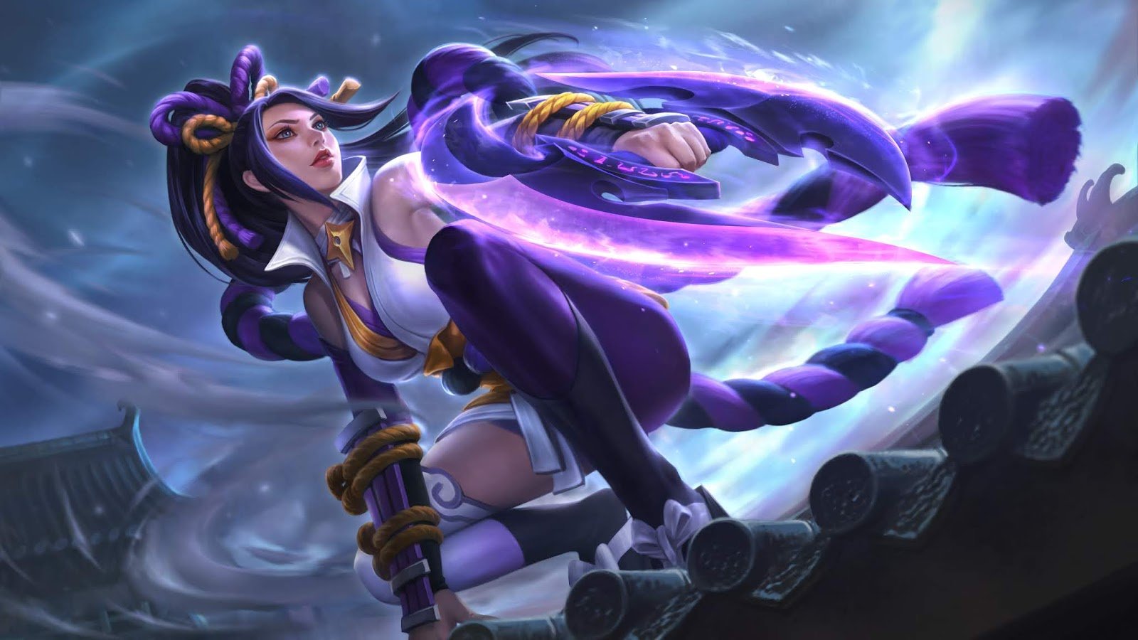 Mobile Legend Wallpaper   Skin Hanabi Mobile Legend Hd Wallpapers 1600x900