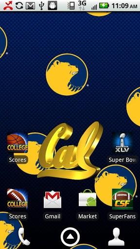 View bigger   Cal Bears Live Wallpaper HD for Android screenshot 288x512