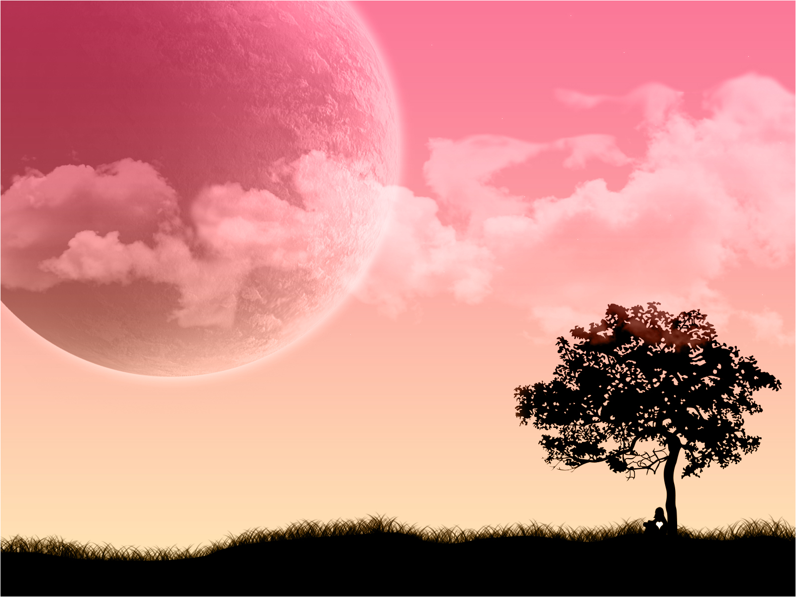 Enjoy this new pink 3d desktop background Pink 3D wallpapers 1600x1200
