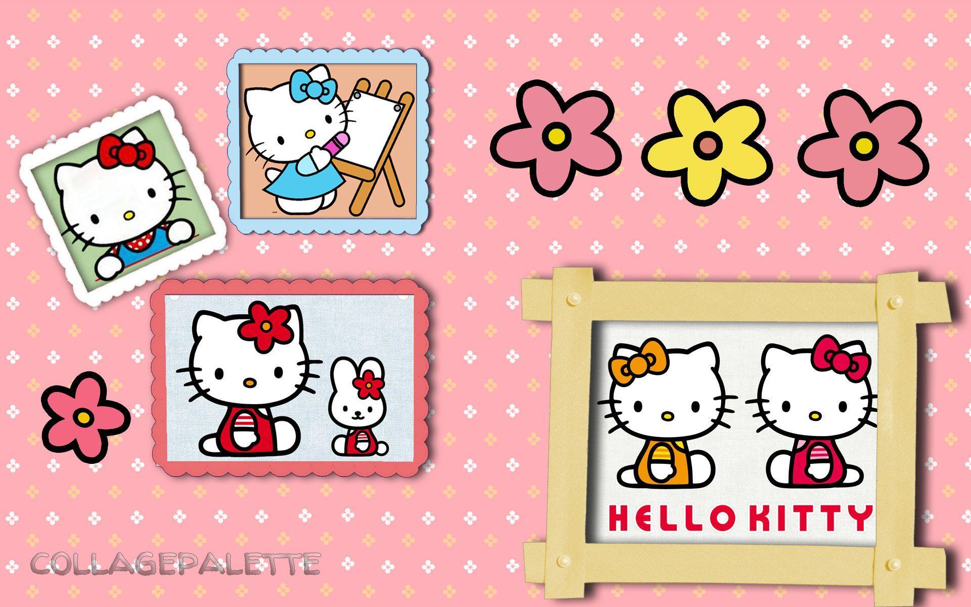 Free Hello Kitty Birthday Wallpapers [