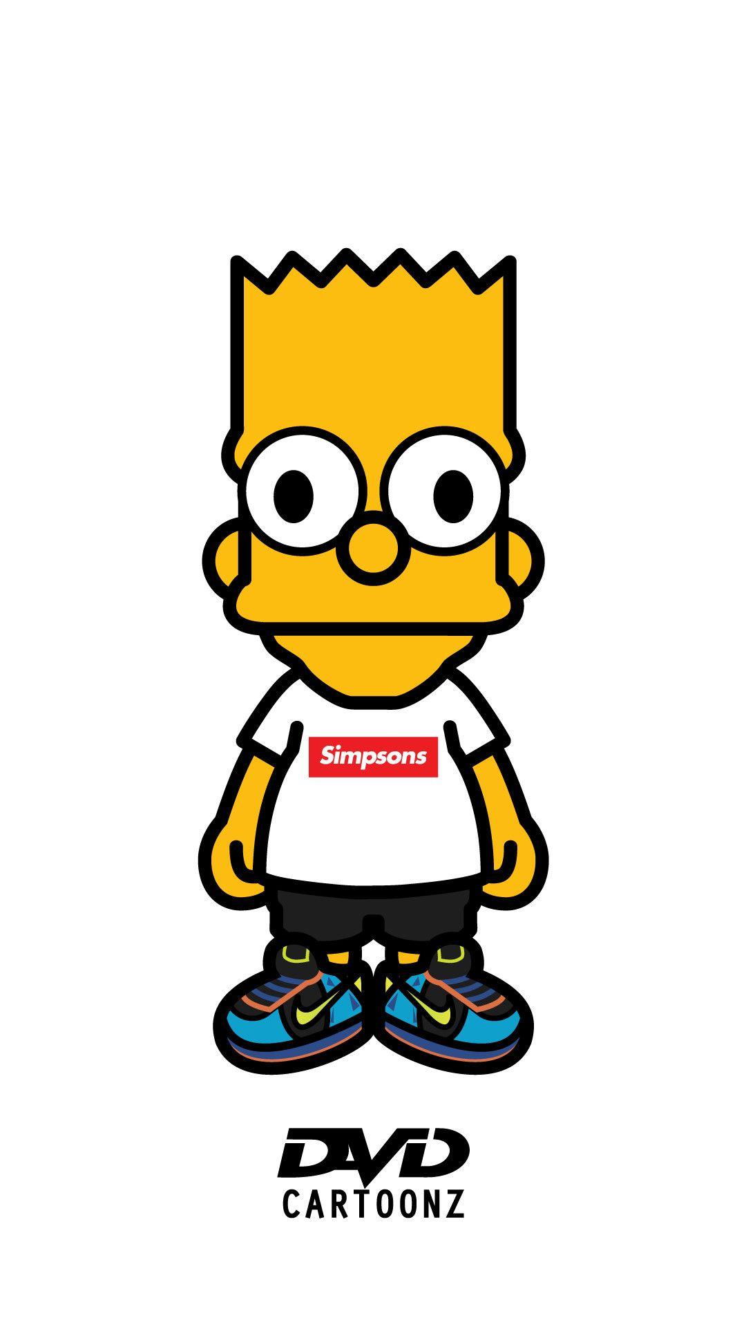 39+ Simpsons iPhone Wallpaper Supreme on WallpaperSafari