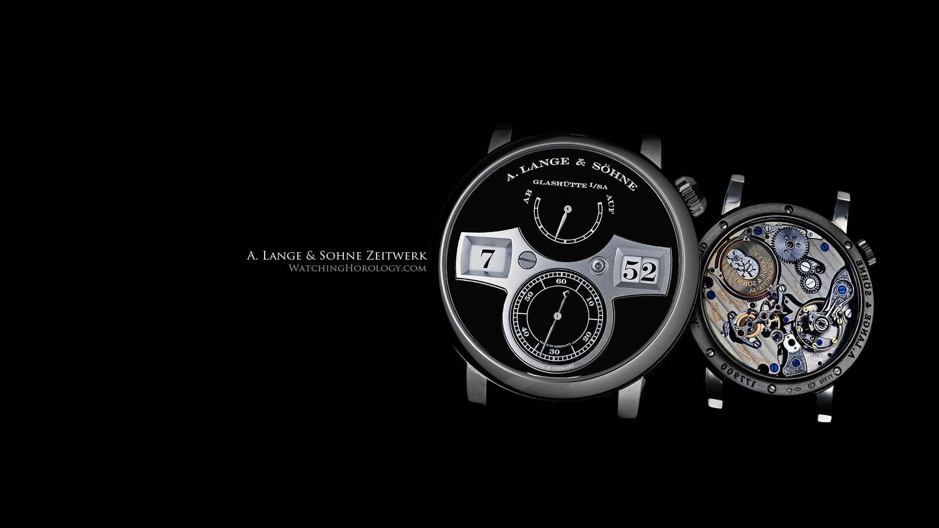 Comment Lange Sohne Zeitwerk Watch 1920x1080 HD Image Brands Ads 1920x1080