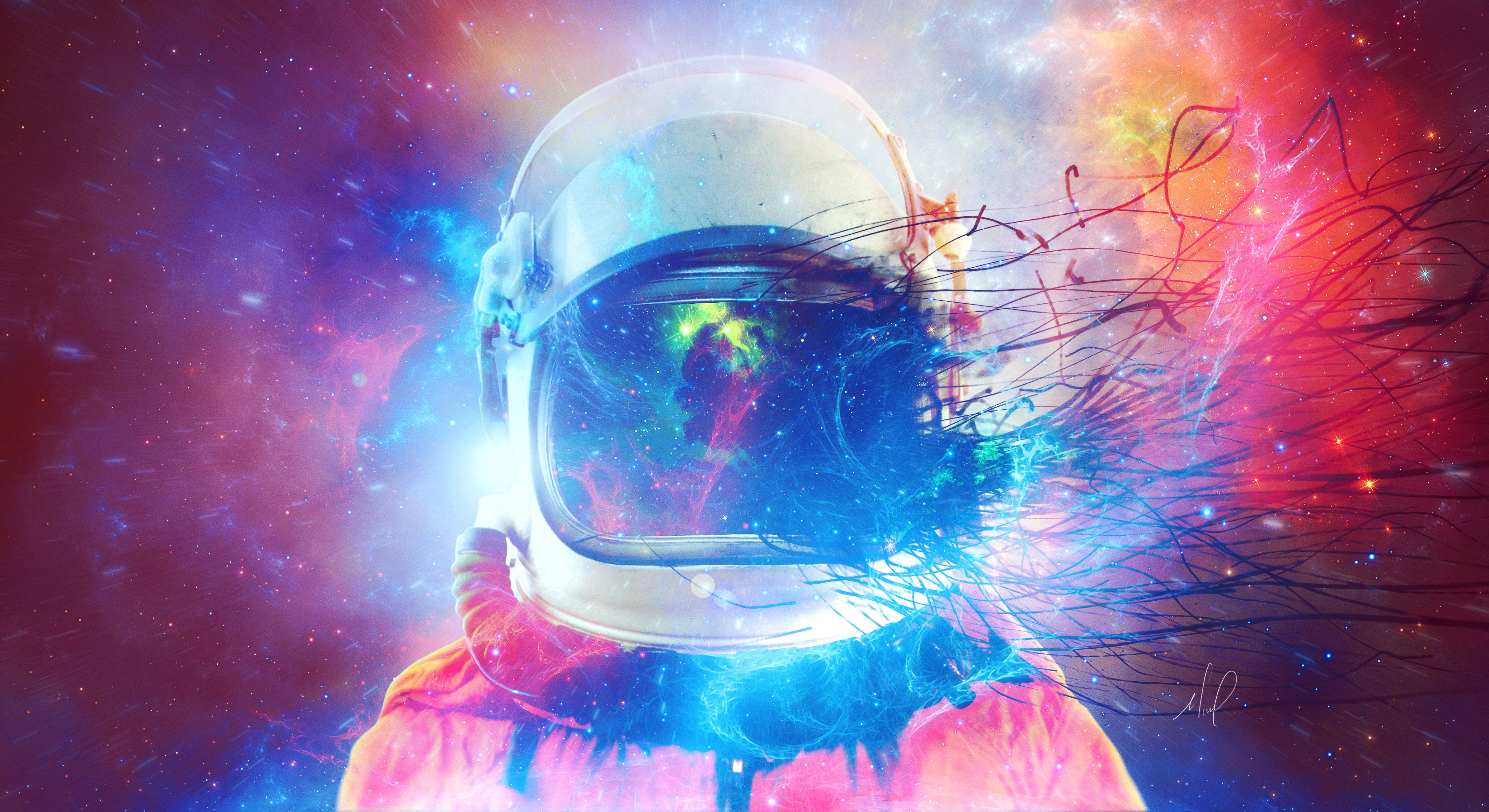 Astronaut Galaxy Wallpapers   Top Astronaut Galaxy 5500x3000
