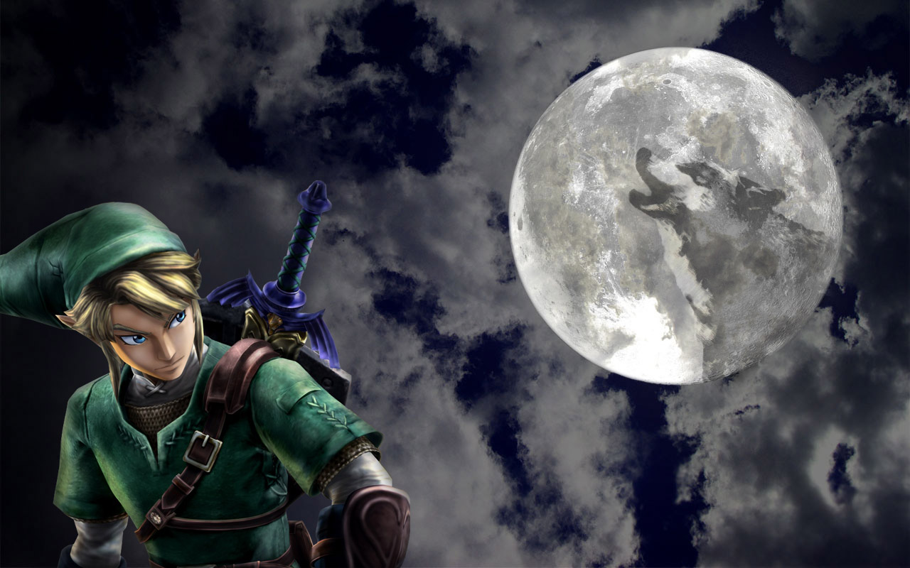 The Legend of Zelda Dark Link Wallpaper HD wallpaper background 1280x800